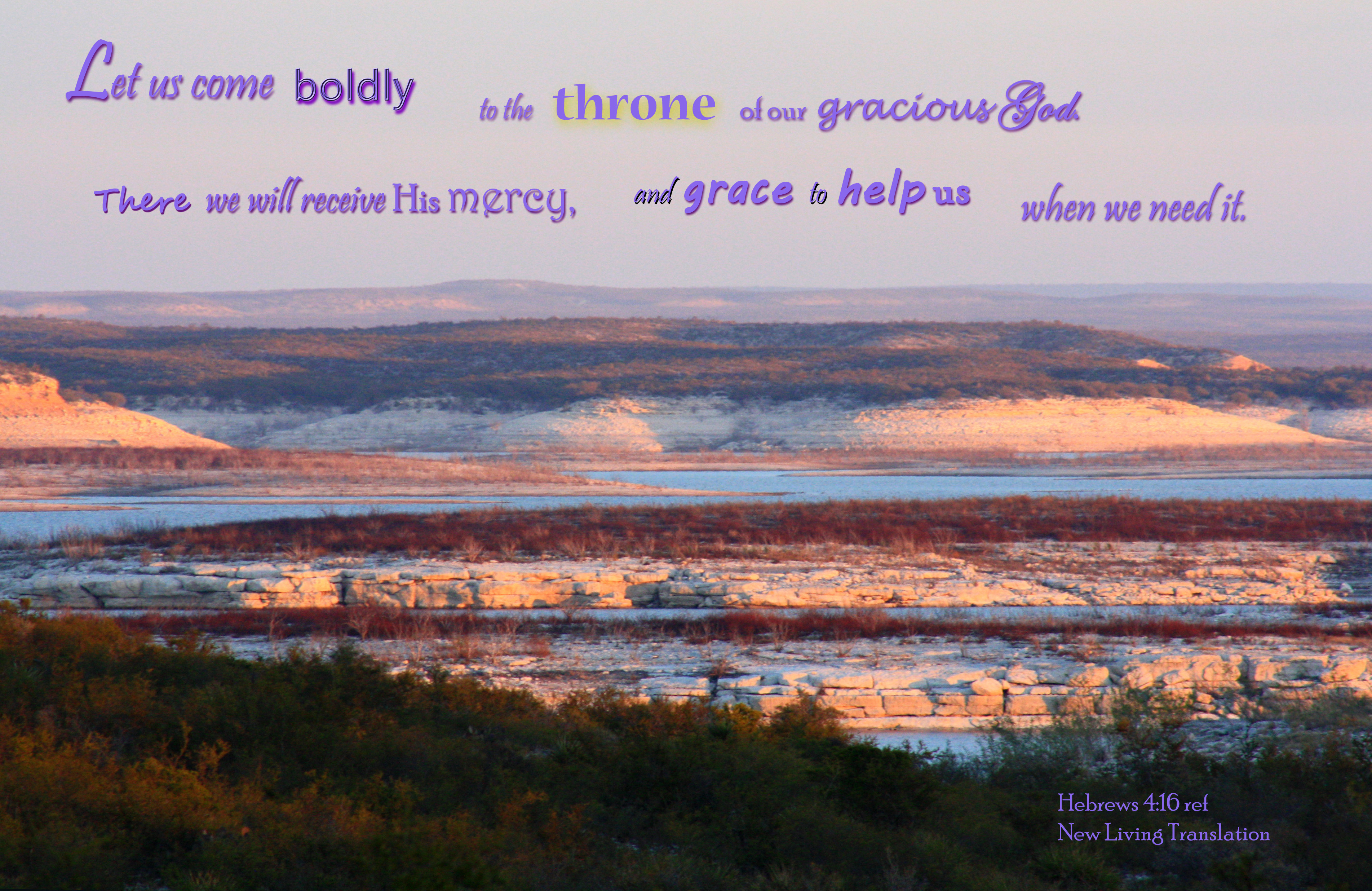 Come boldly to god's throne photo