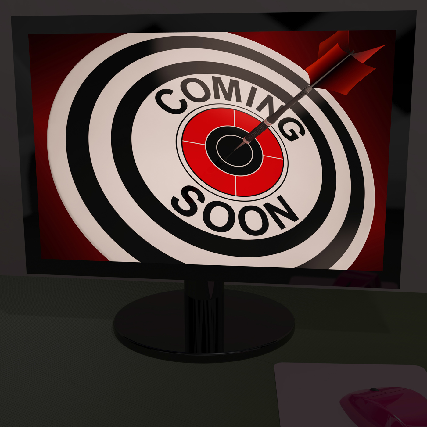 Coming soon on monitor shows arriving promotions photo