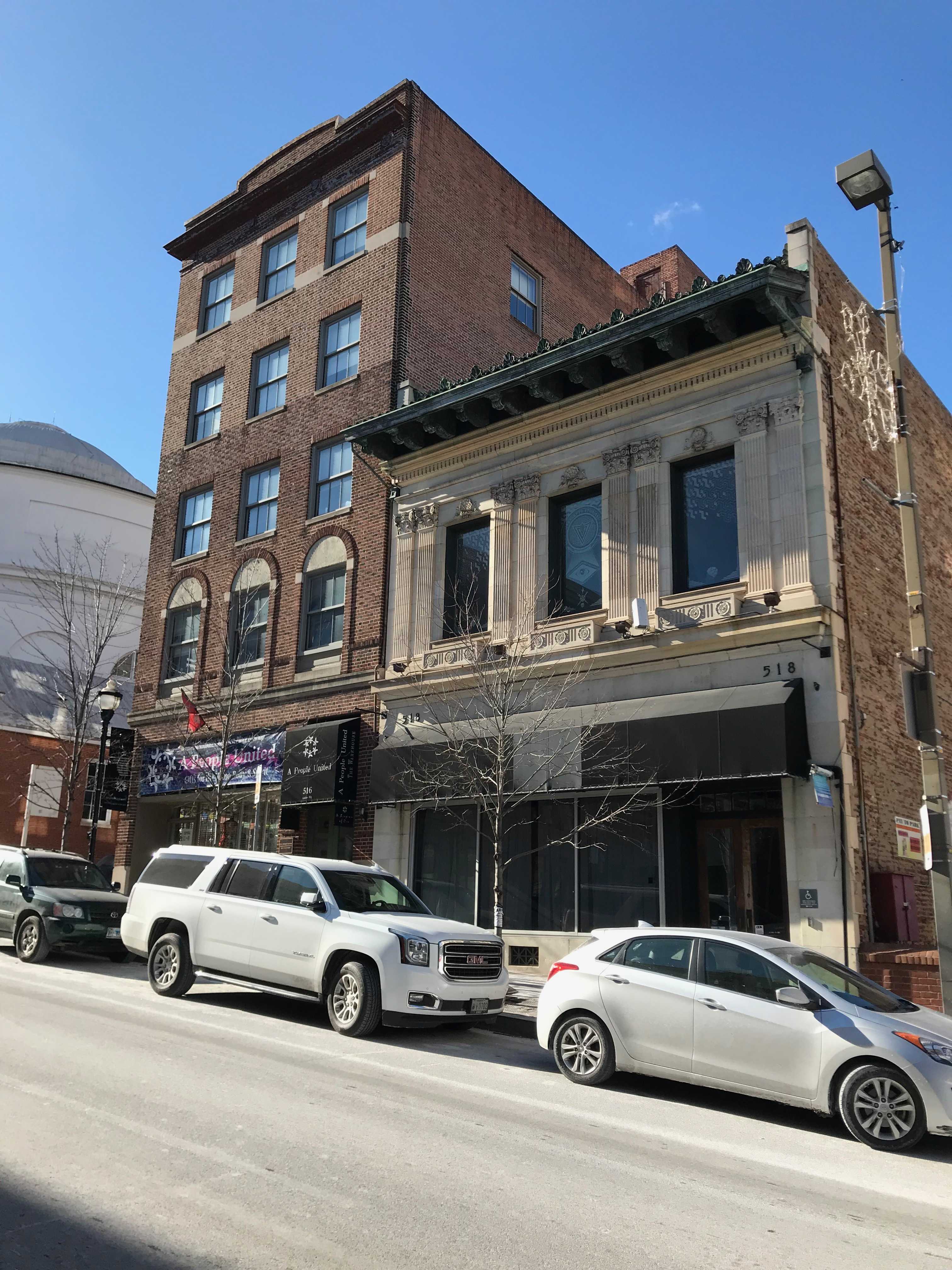 Commercial building, 516-518 n. charles street, baltimore, md 21201 photo