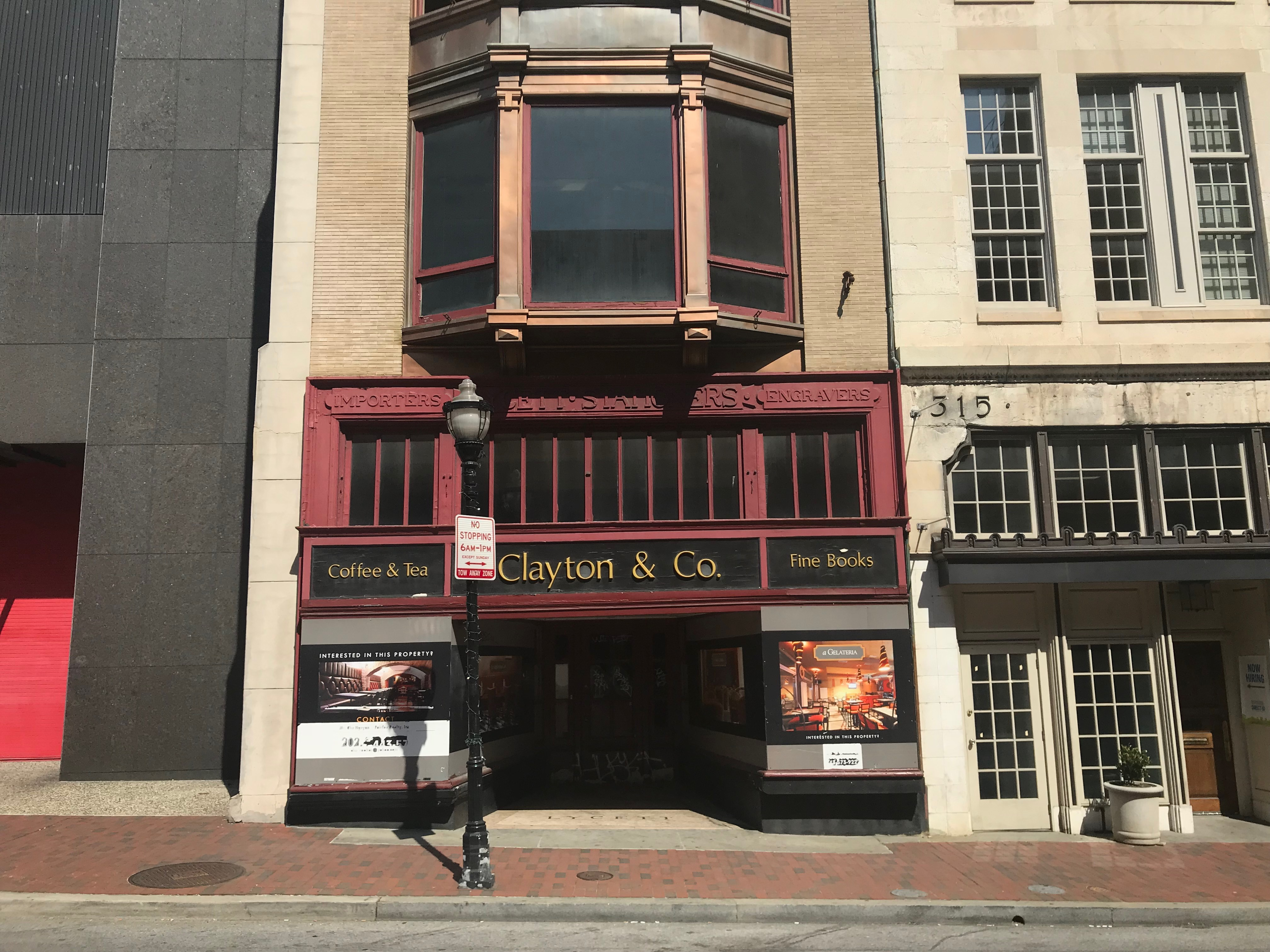 Commercial building storefront, 317 n. charles street, baltimore, md 21201 photo