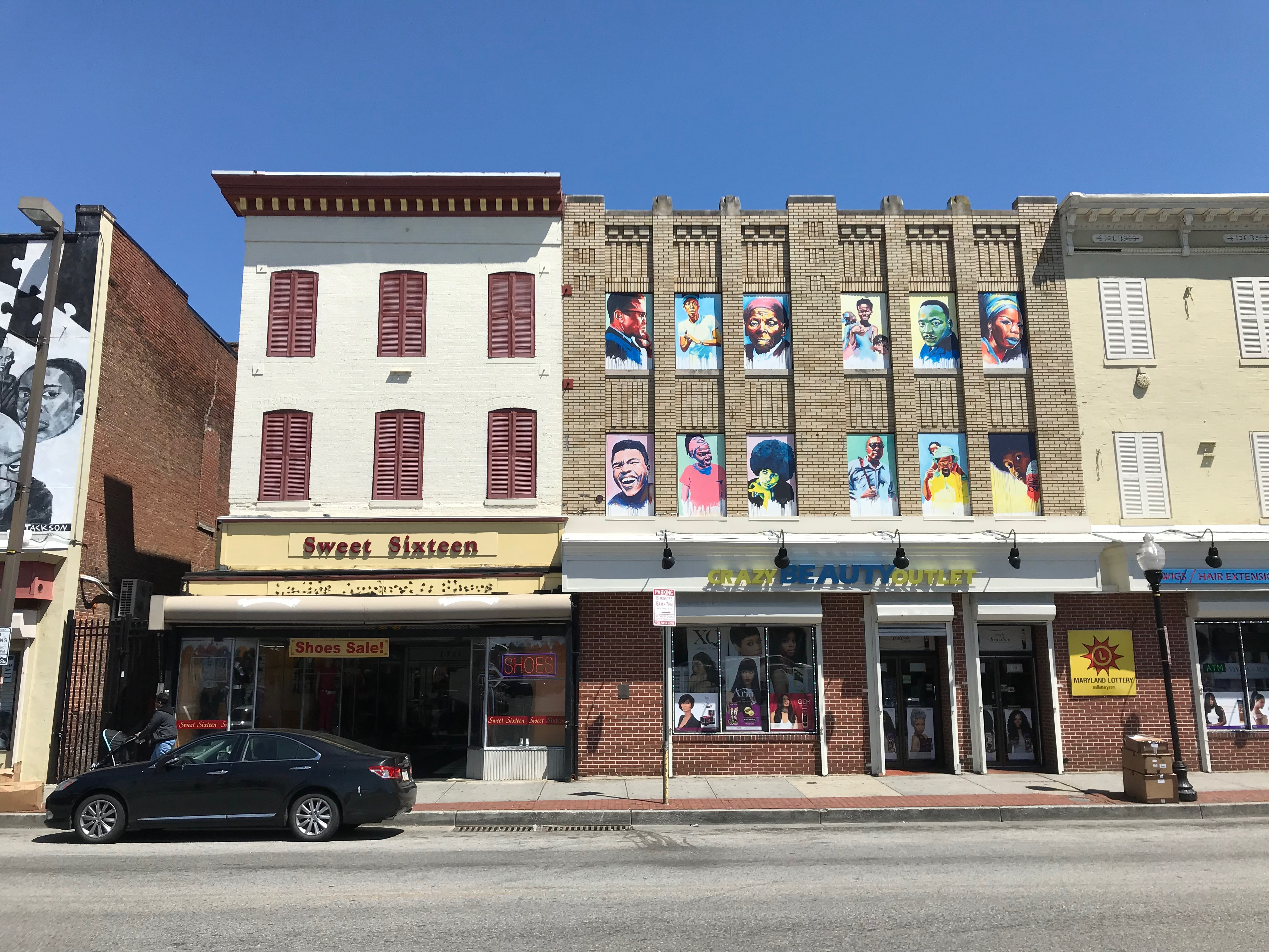 Commercial buildings, 1700 block of pennsylvania avenue (east side), baltimore, md 21217 photo