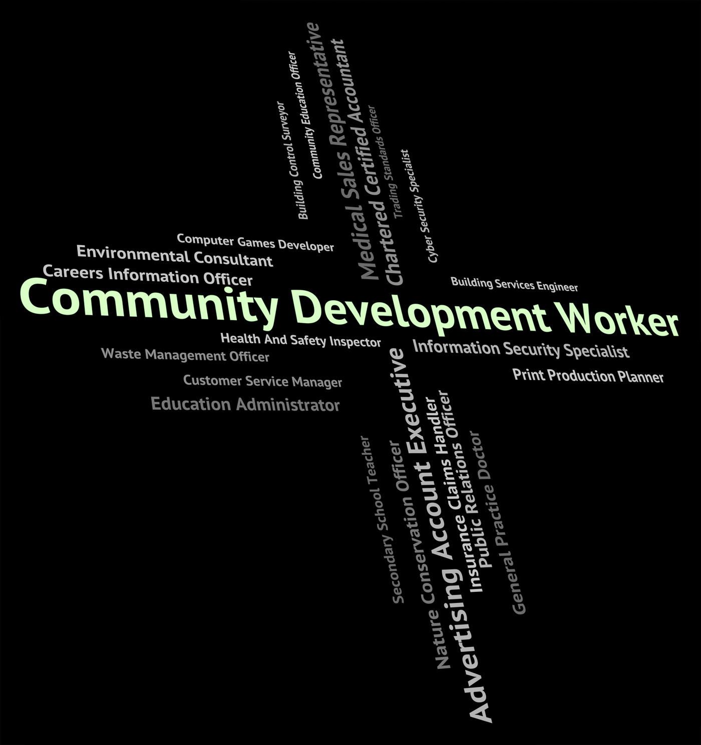 Community Development Worker Represents Working Woman And Advanc, Advance, United, Staff, Teamwork, HQ Photo