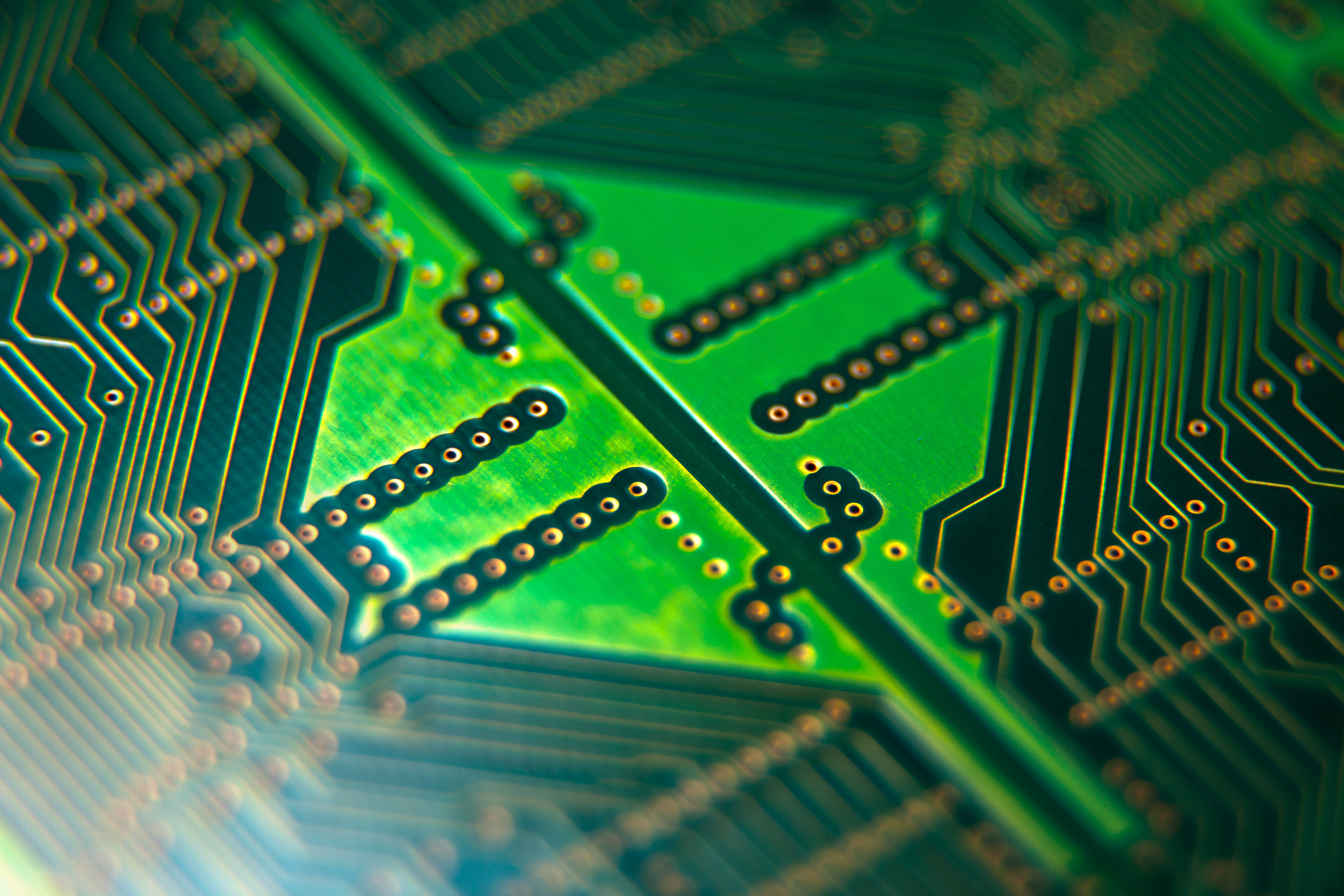 Computer circuit board photo