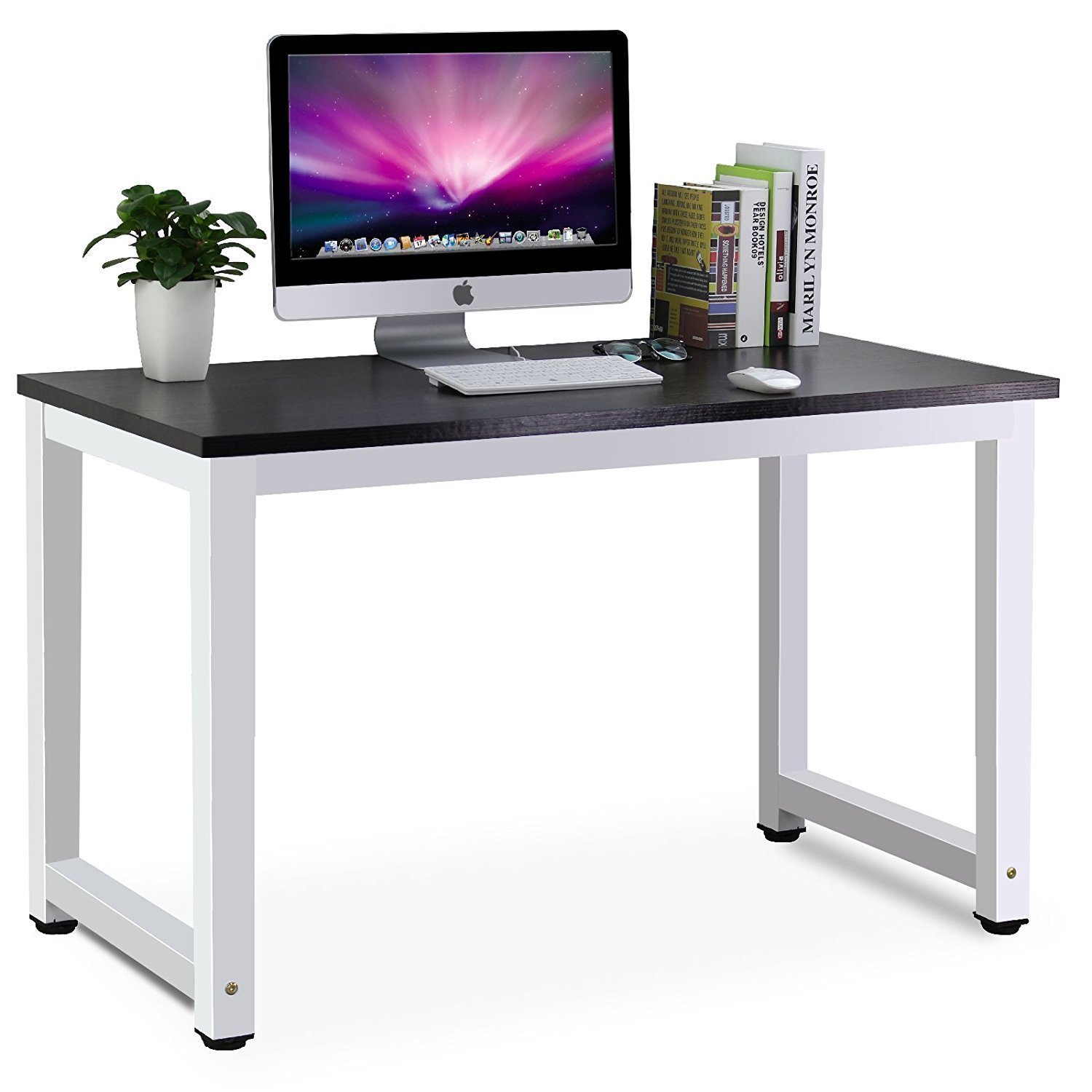 Amazon.com : Tribesigns Modern Simple Style Computer Desk PC Laptop ...