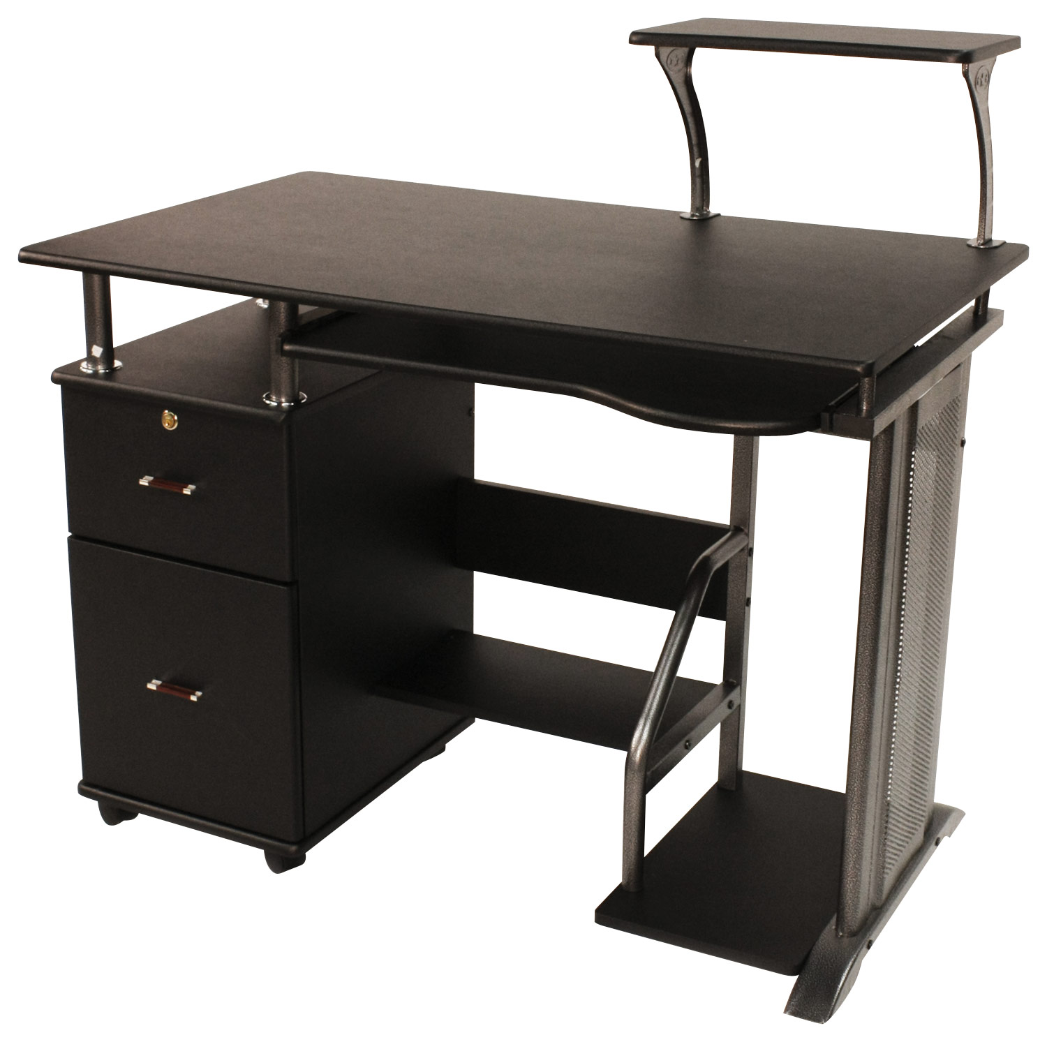 Comfort Products Inc. Rothmin Computer Desk Black 50-100505 - Best Buy