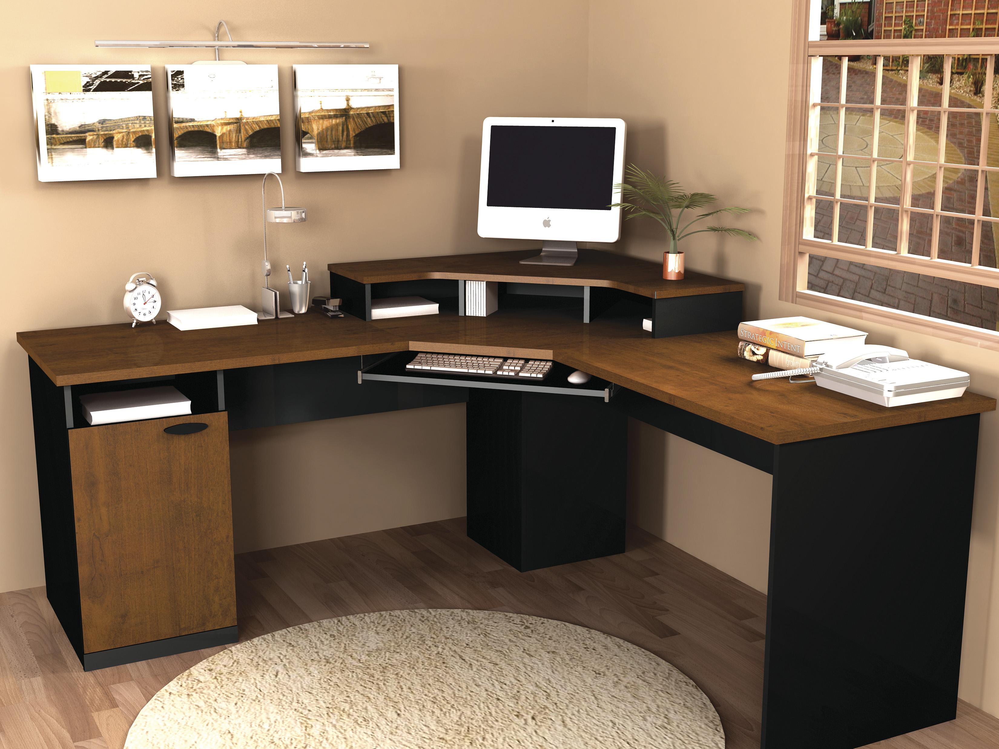 Bestar Hampton Corner Computer Desk