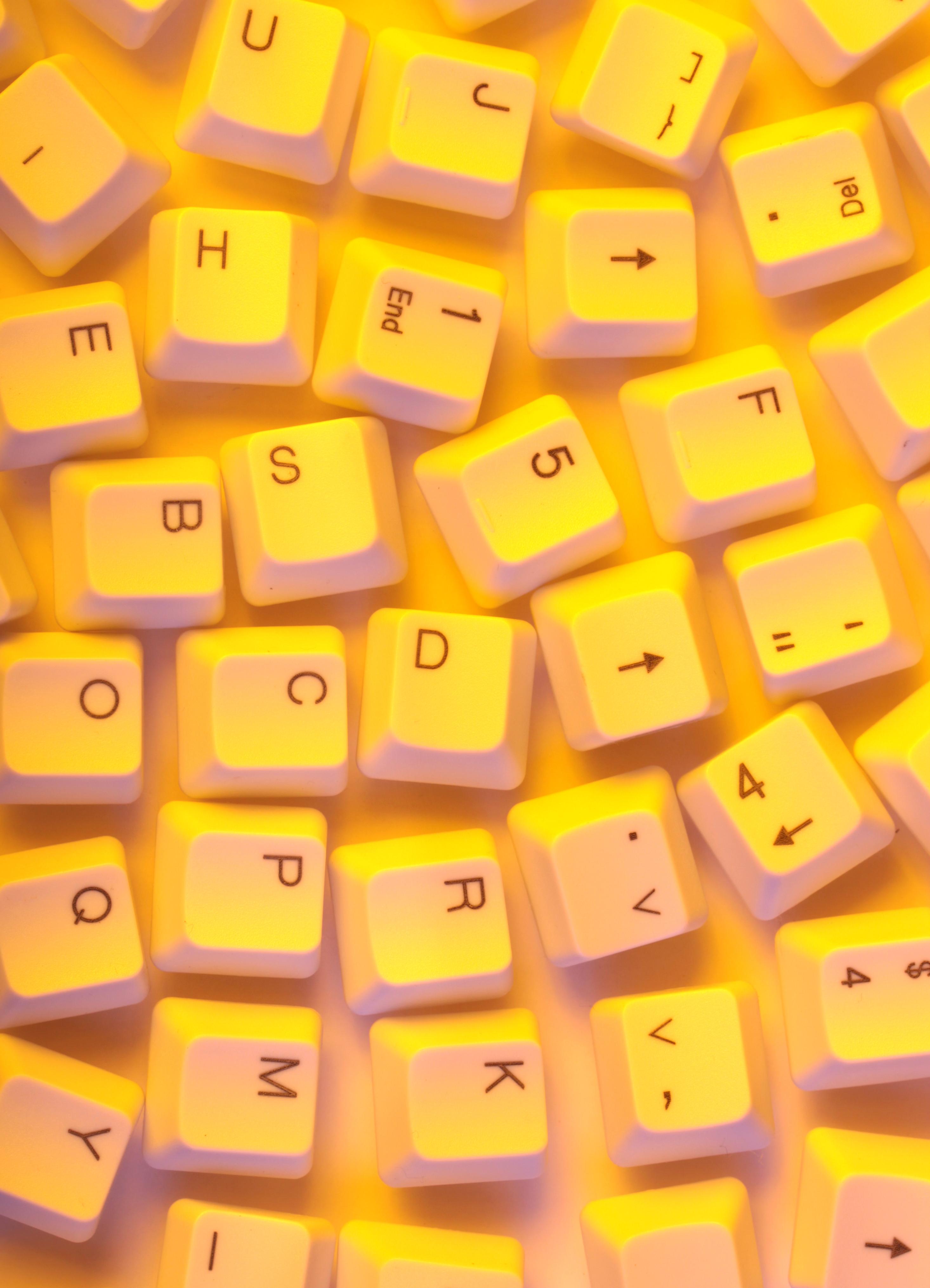 Computer keys photo