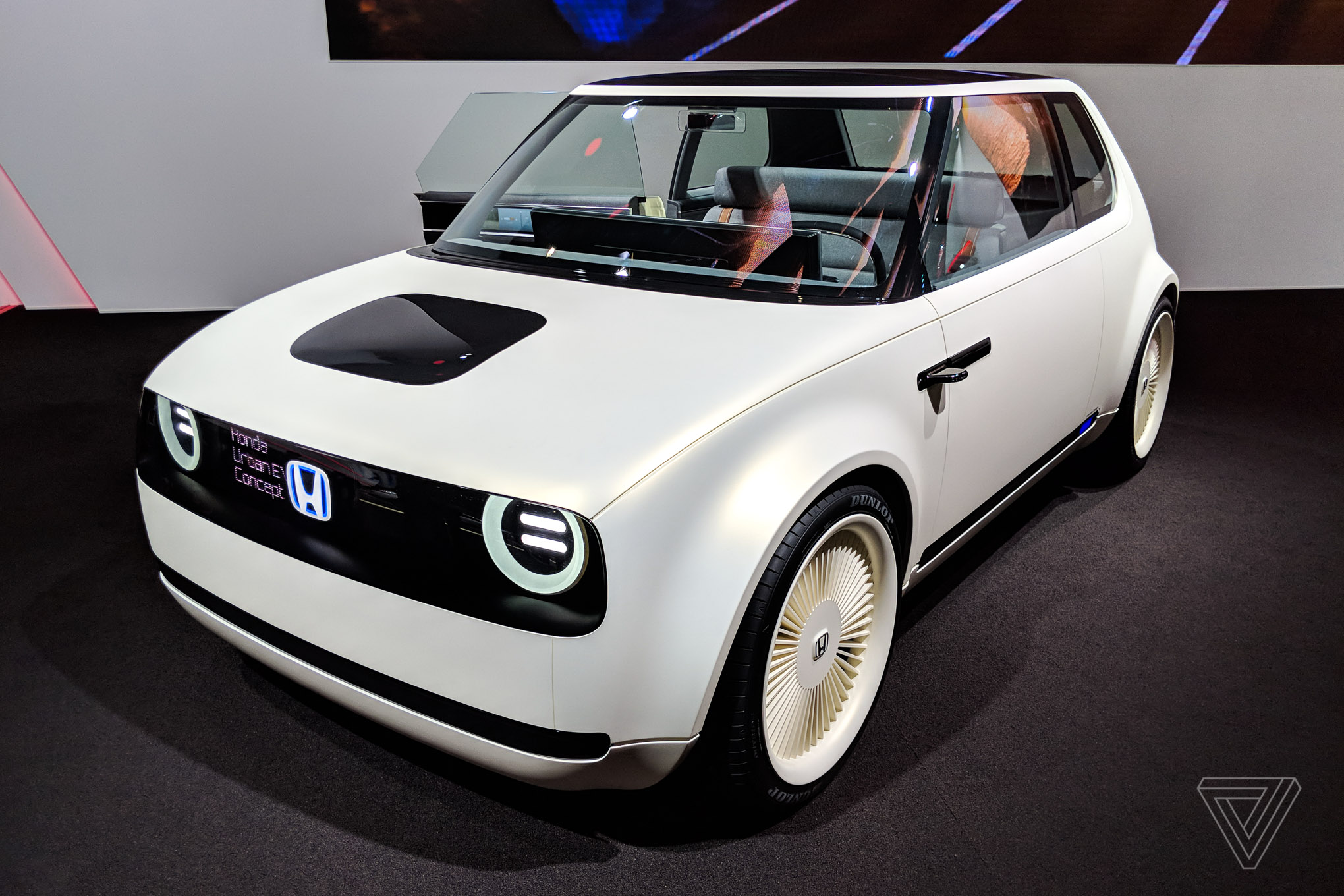 Honda's Urban EV Concept is even more adorable in the flesh - The Verge