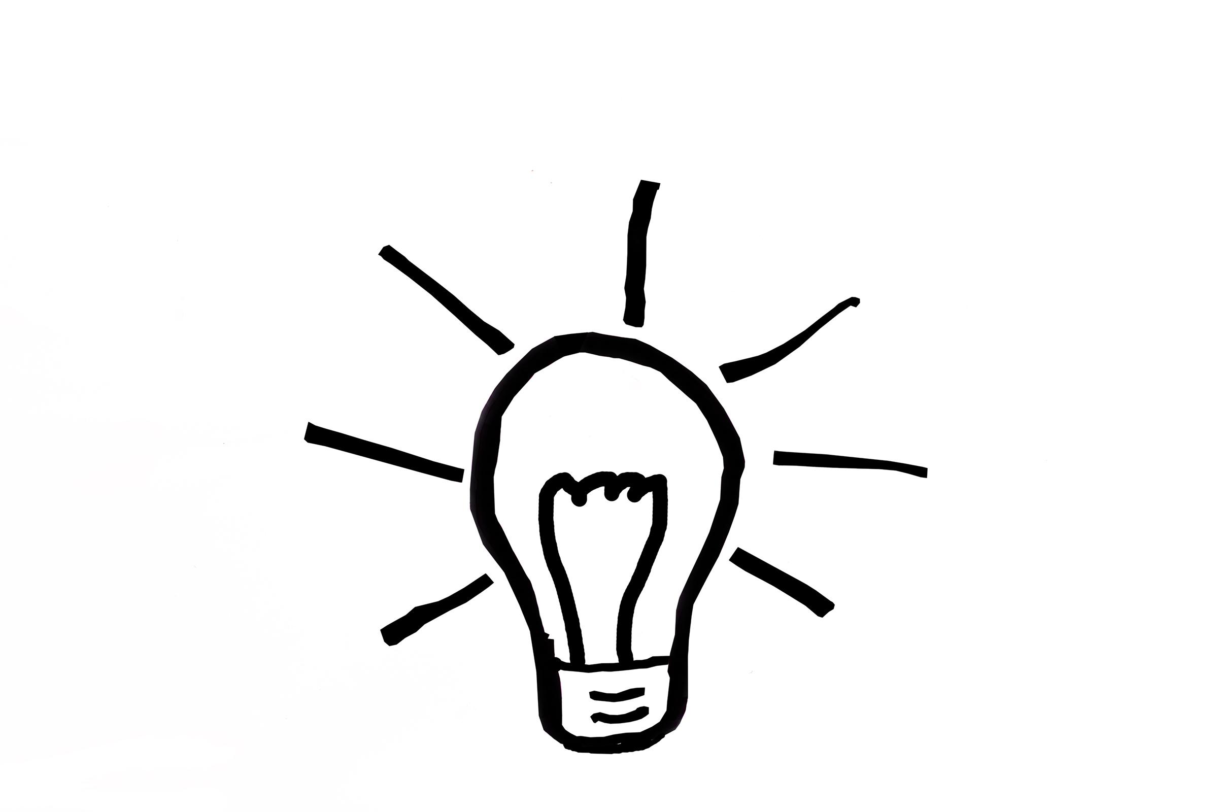 Concept, White, Lightbulb, Incandescent, Innovation, HQ Photo