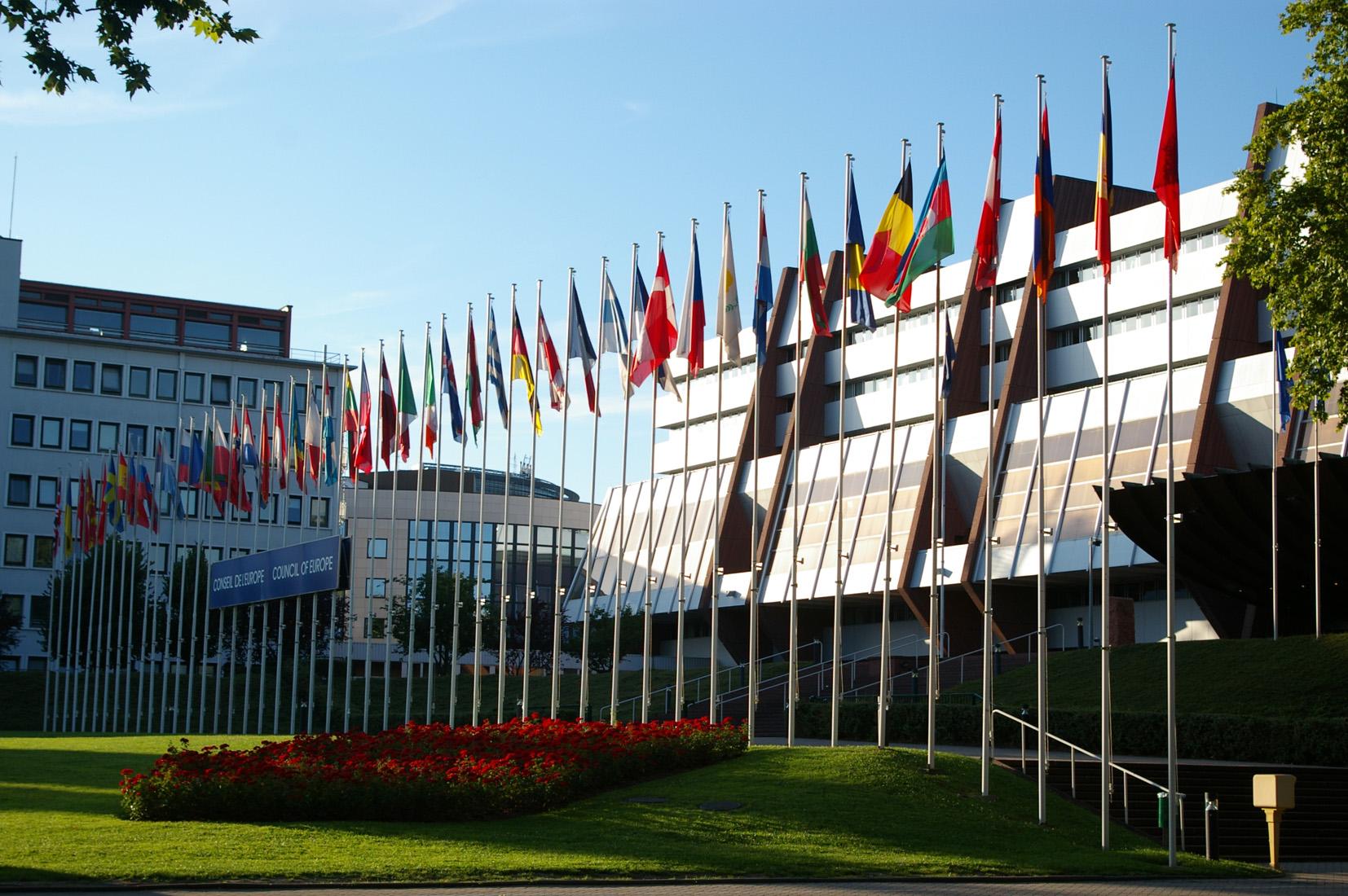 Concil of Europe, Alsace, Alsacia, Country, Drapeau, HQ Photo