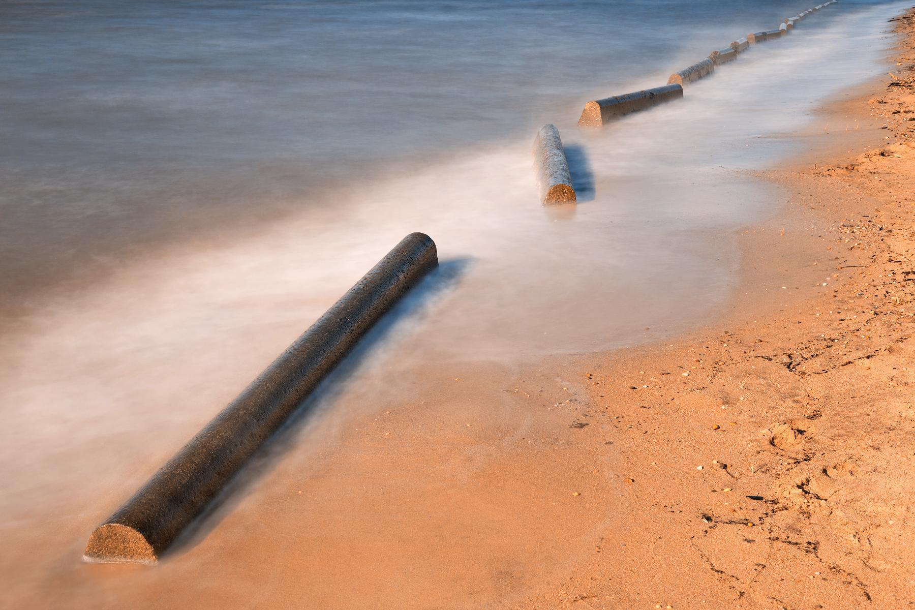 Concrete Beach Front, America, Scenery, Simplistic, Simple, HQ Photo