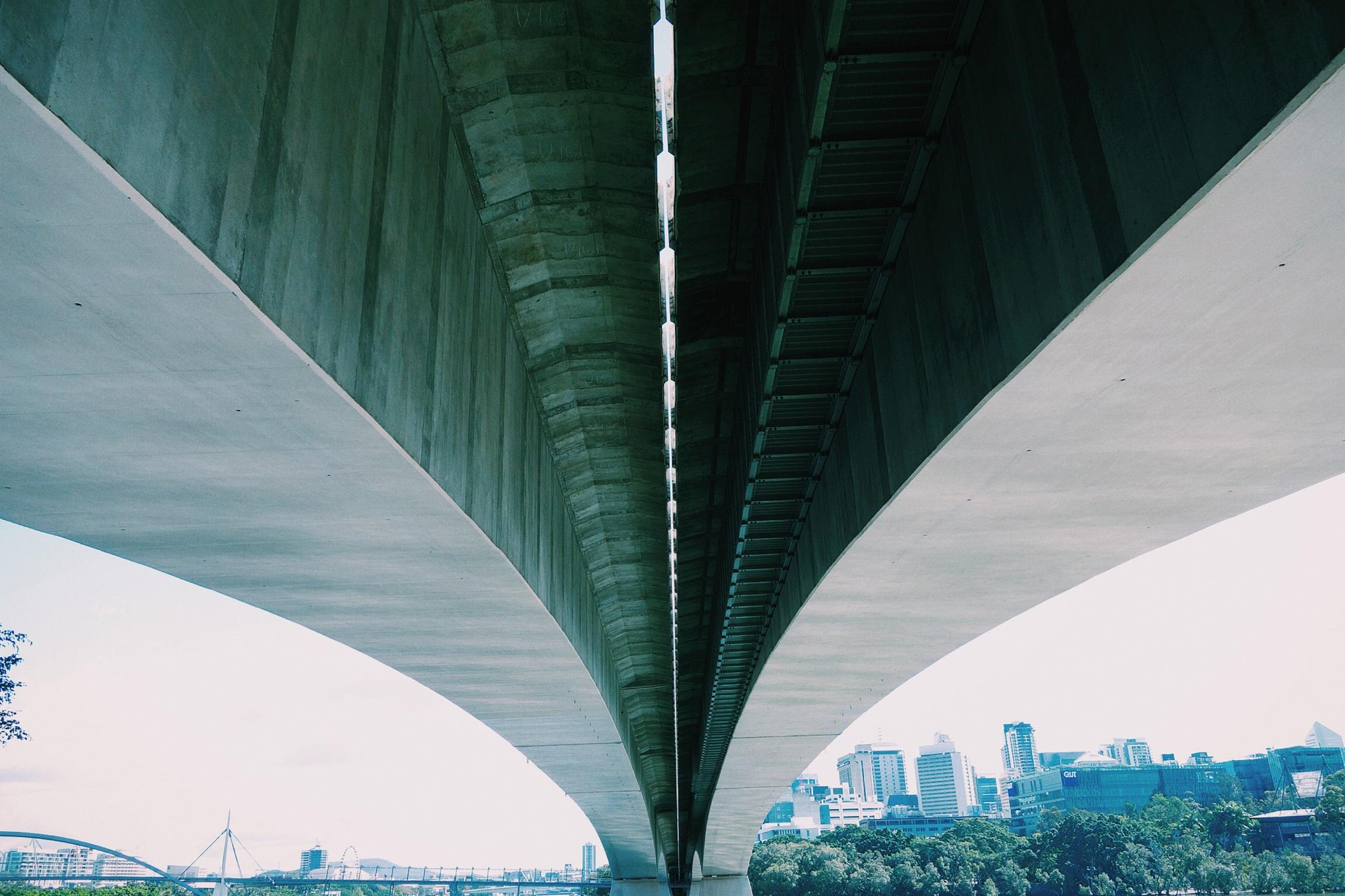 Concrete, Bridge, City, Construction, Path, HQ Photo