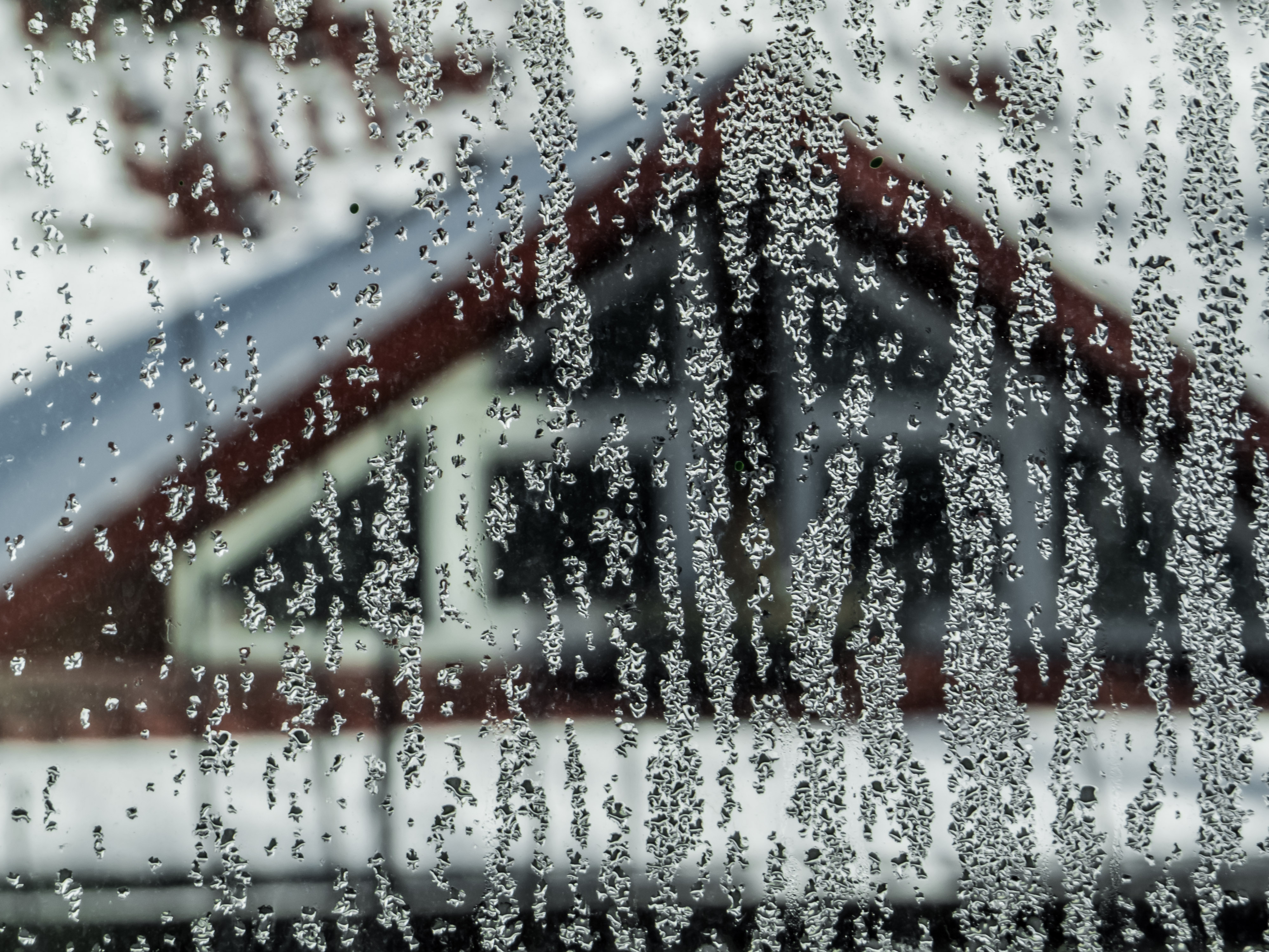 Condensate on window photo