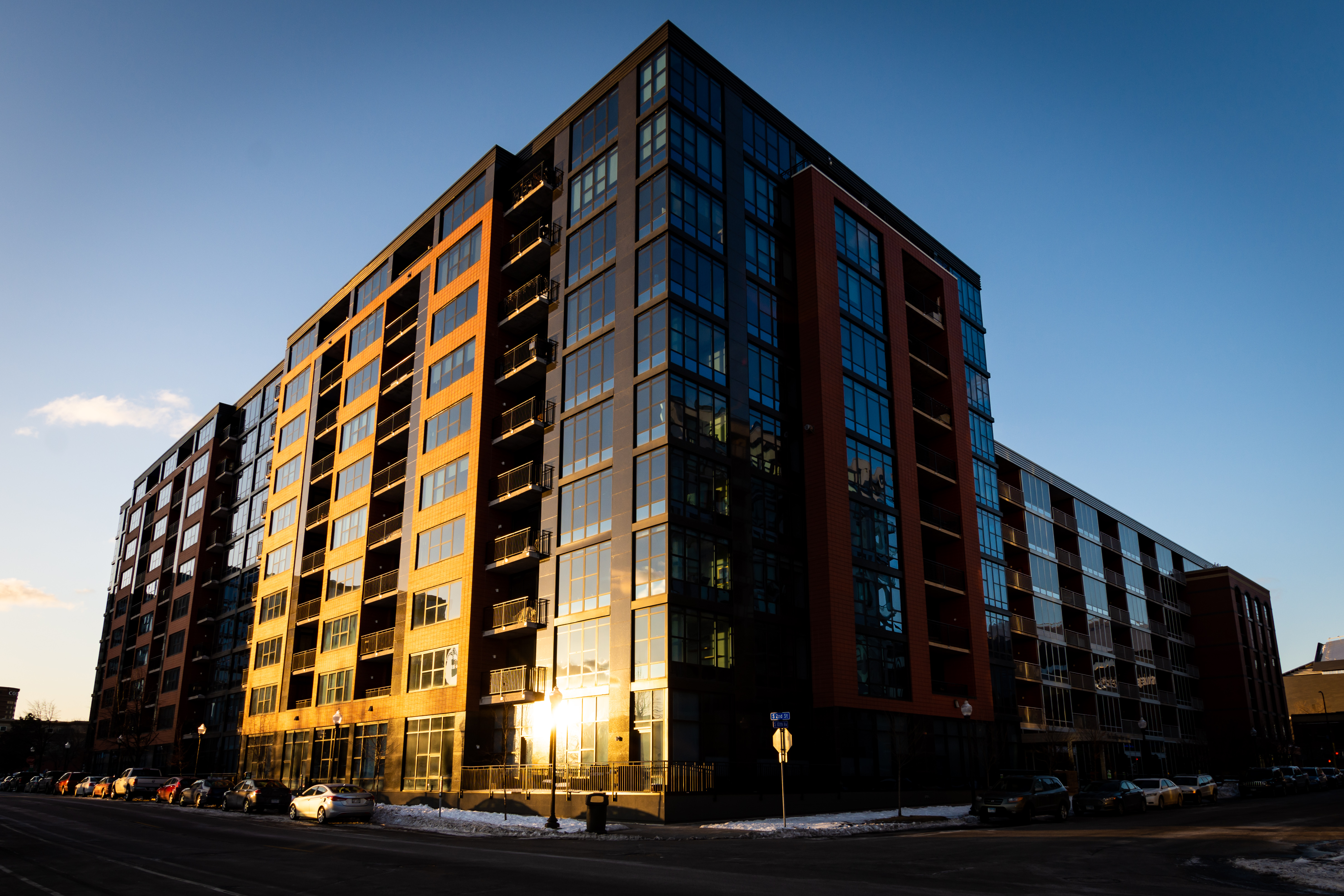 Condos in the Morning, Architecture, Building, City, Condos, HQ Photo