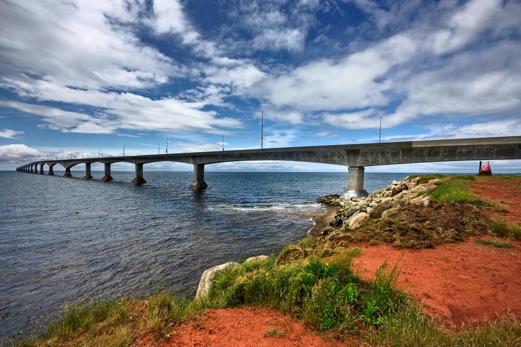 Confederation bridge - hdr photo