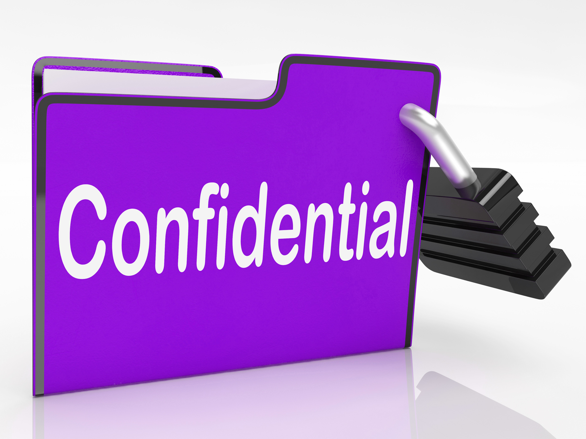 Confidential Security Means Restricted Organize And Confidentially, Private, Protected, Password, Paperwork, HQ Photo