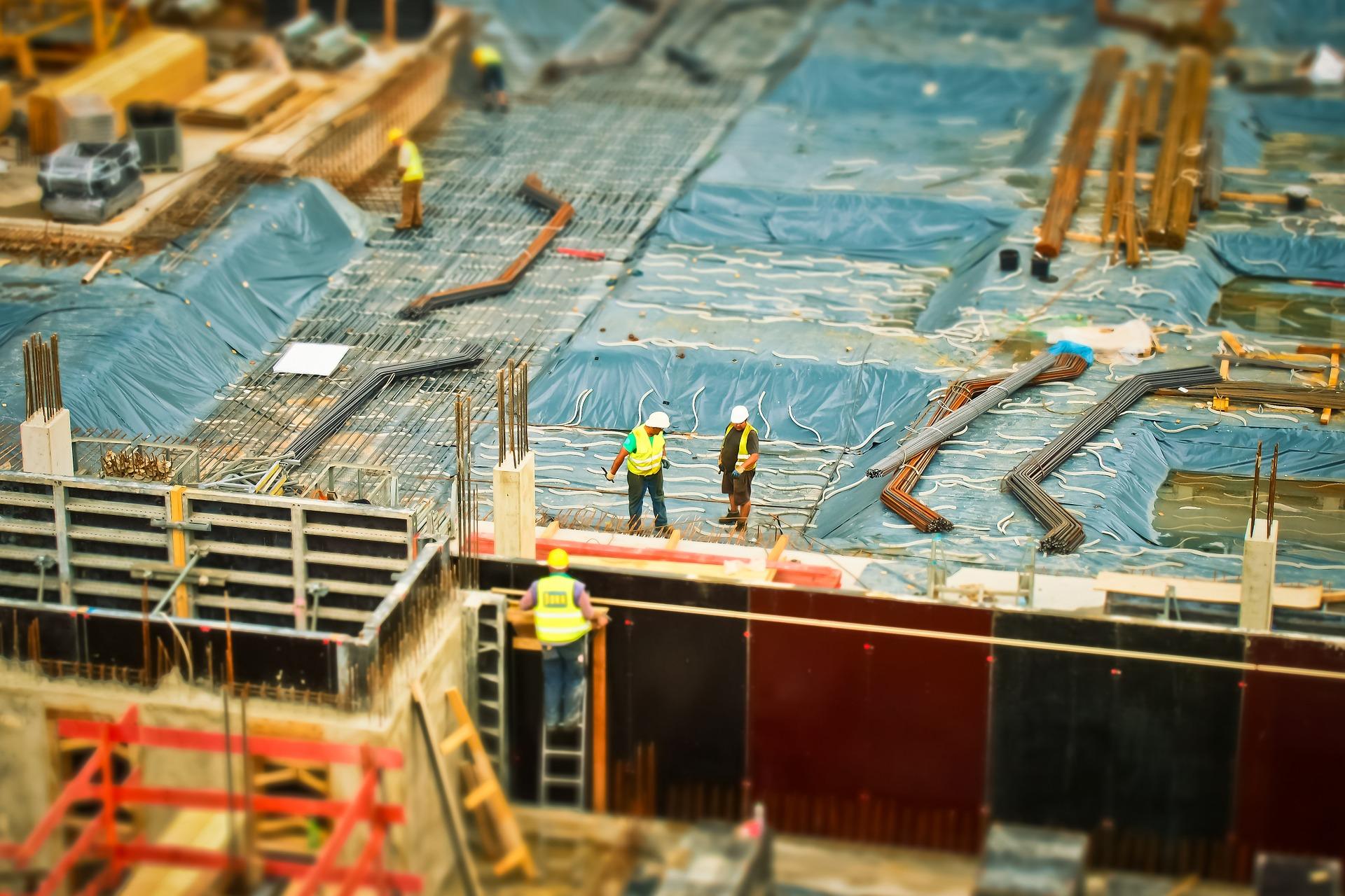 Construction work photo