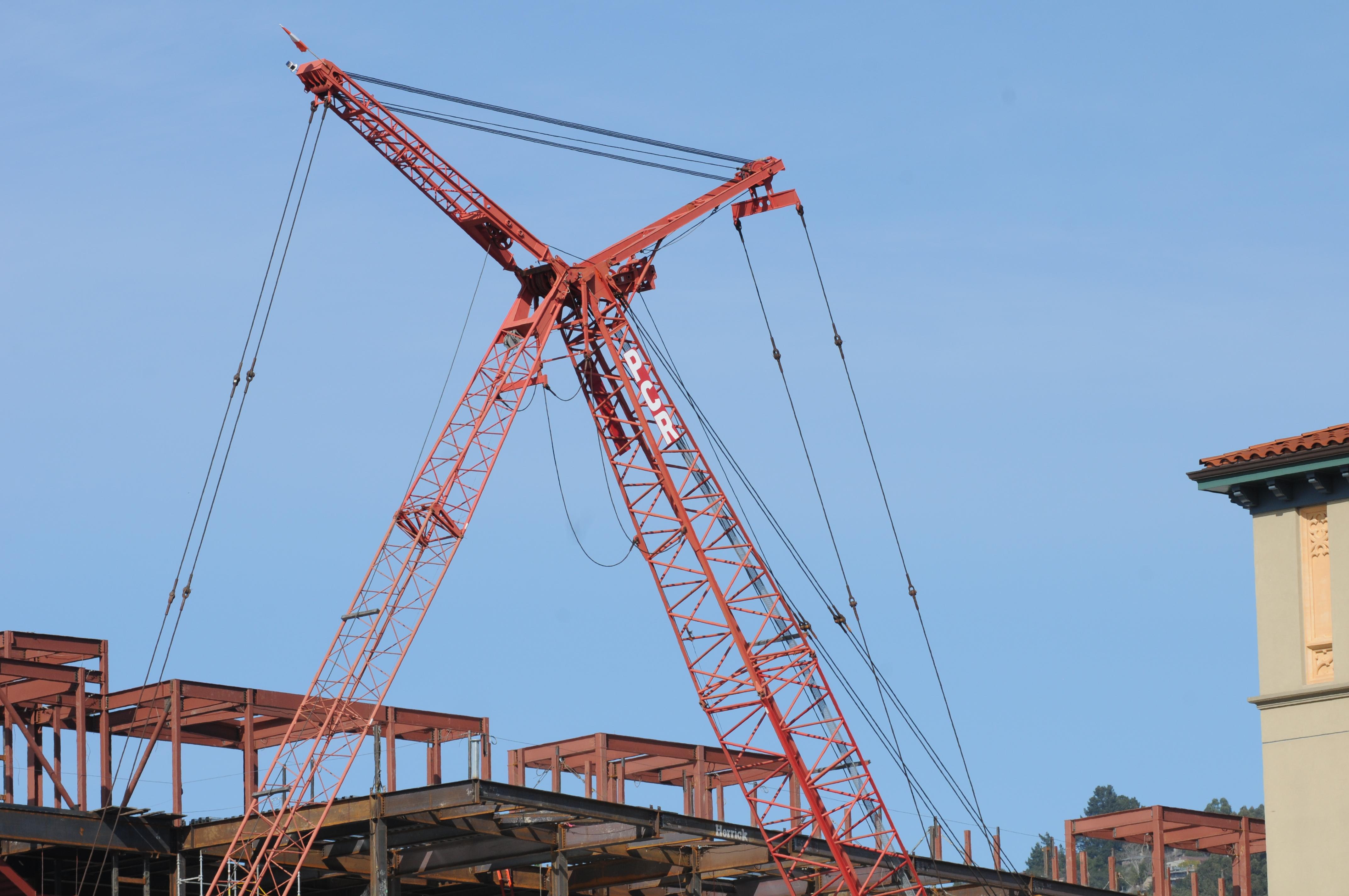Construction crane 1 photo