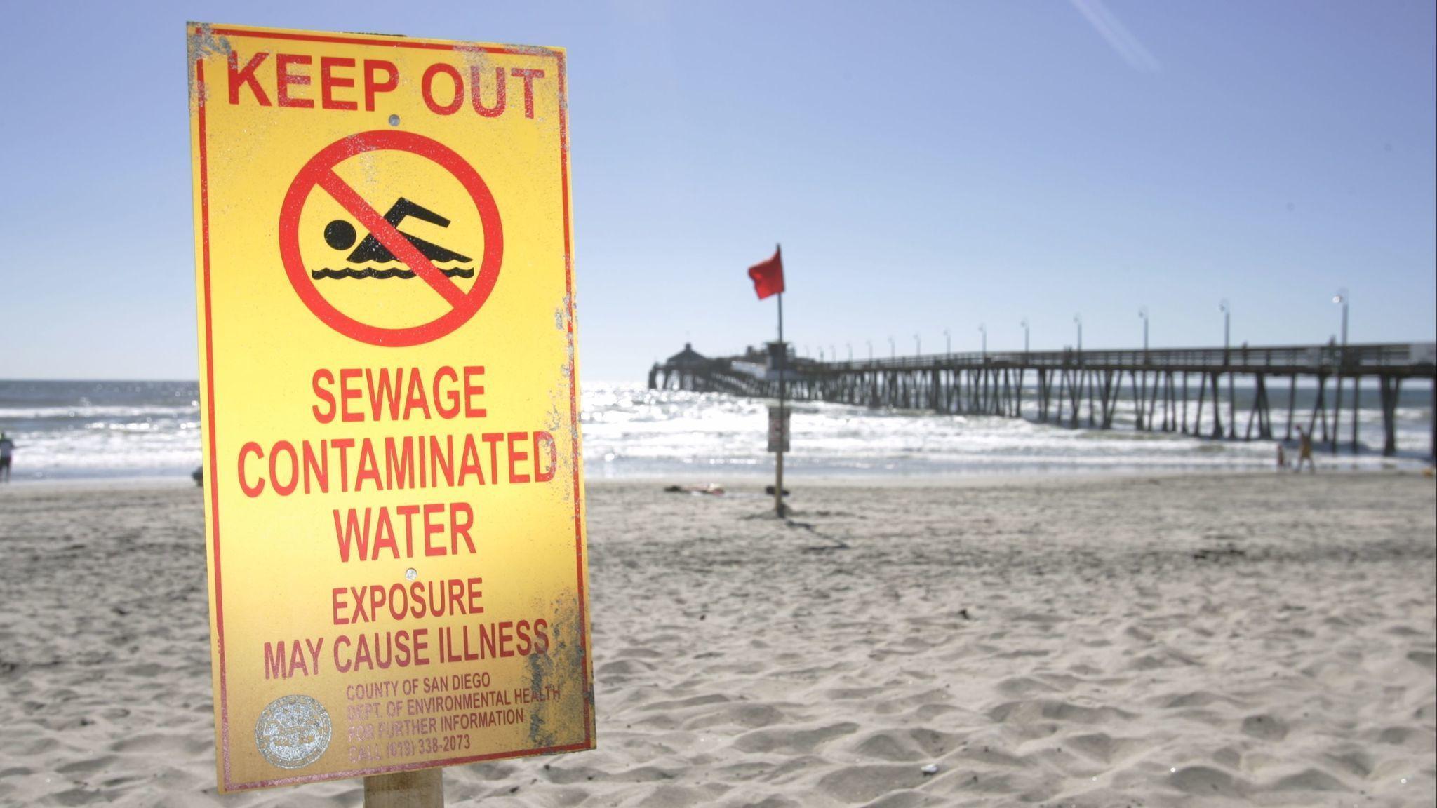 Tijuana pollution contaminates South Bay beaches at astounding rate ...