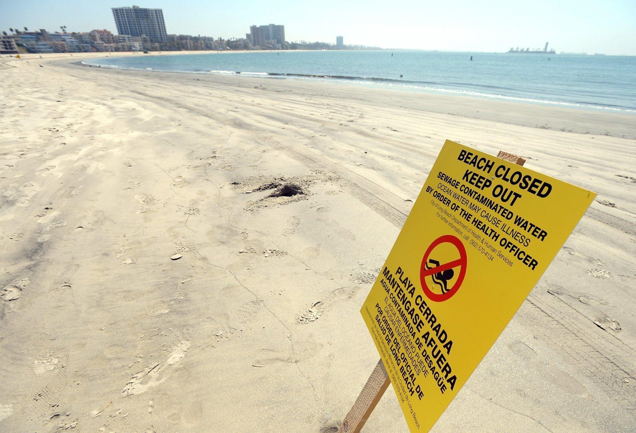 Focus: California drought reducing beach bacteria - The San Diego ...