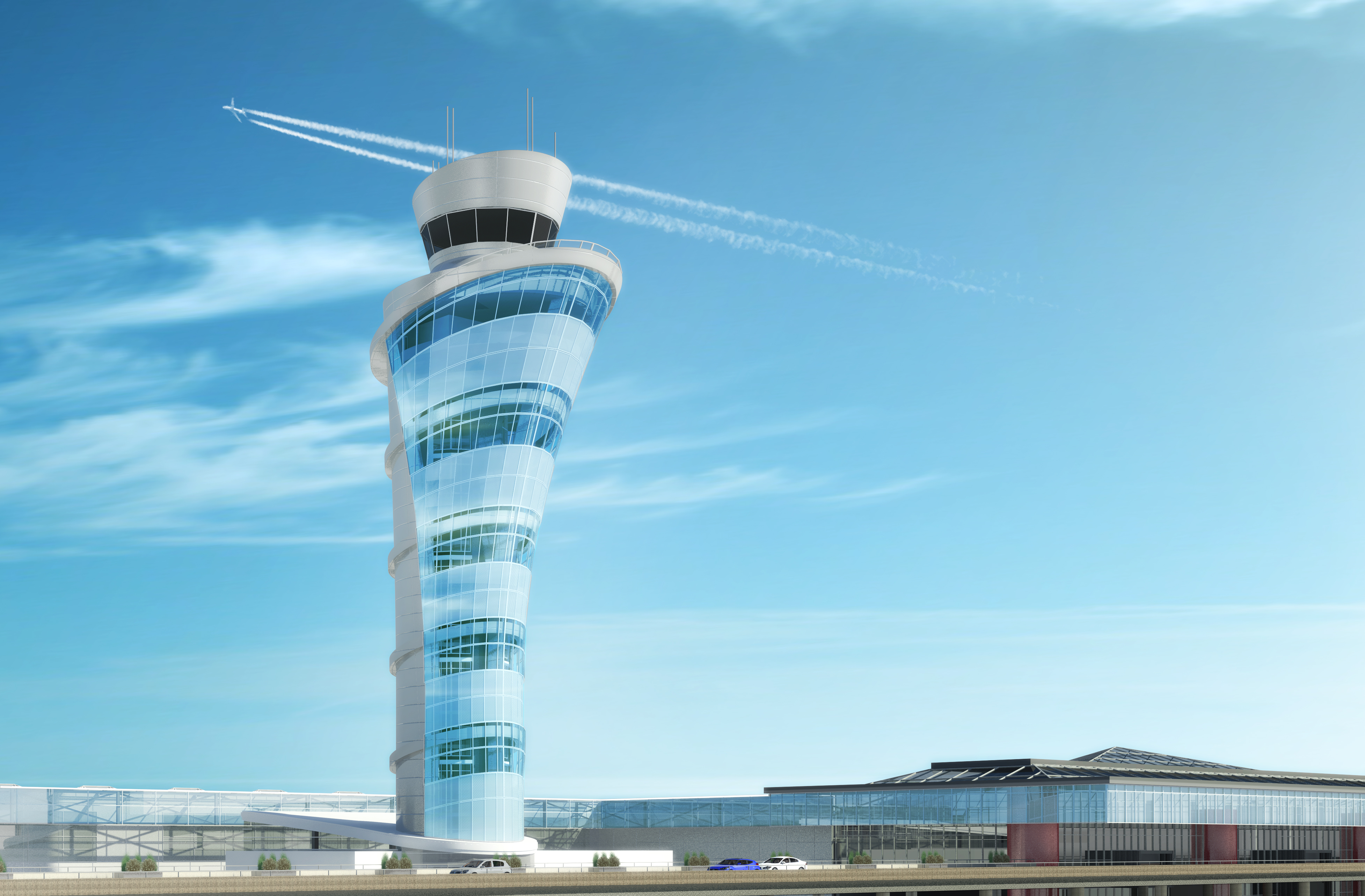 TSP Designs BWI Air Traffic Control Tower - The Sheward Partnership