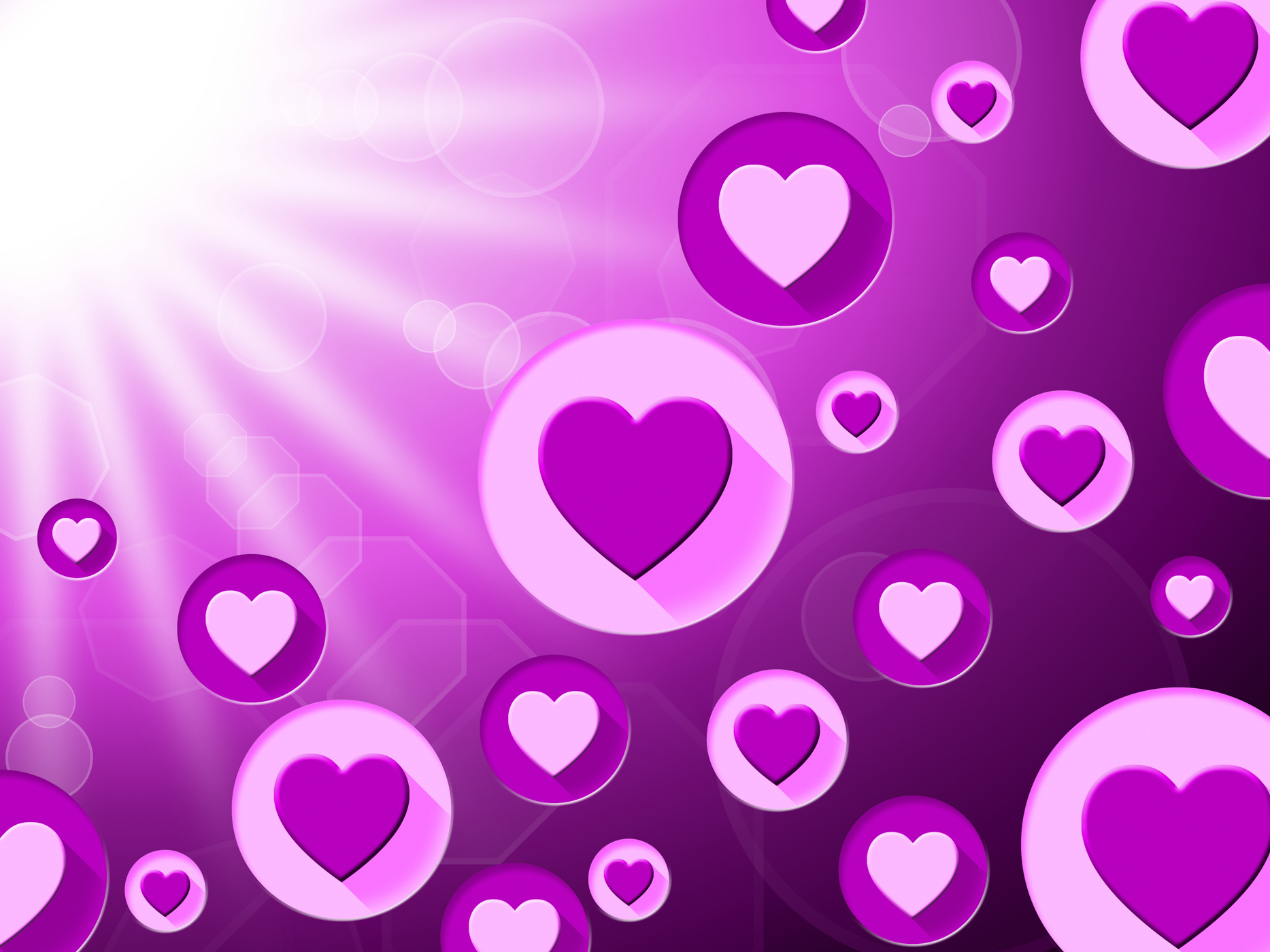 Copyspace background represents valentine day and affection photo