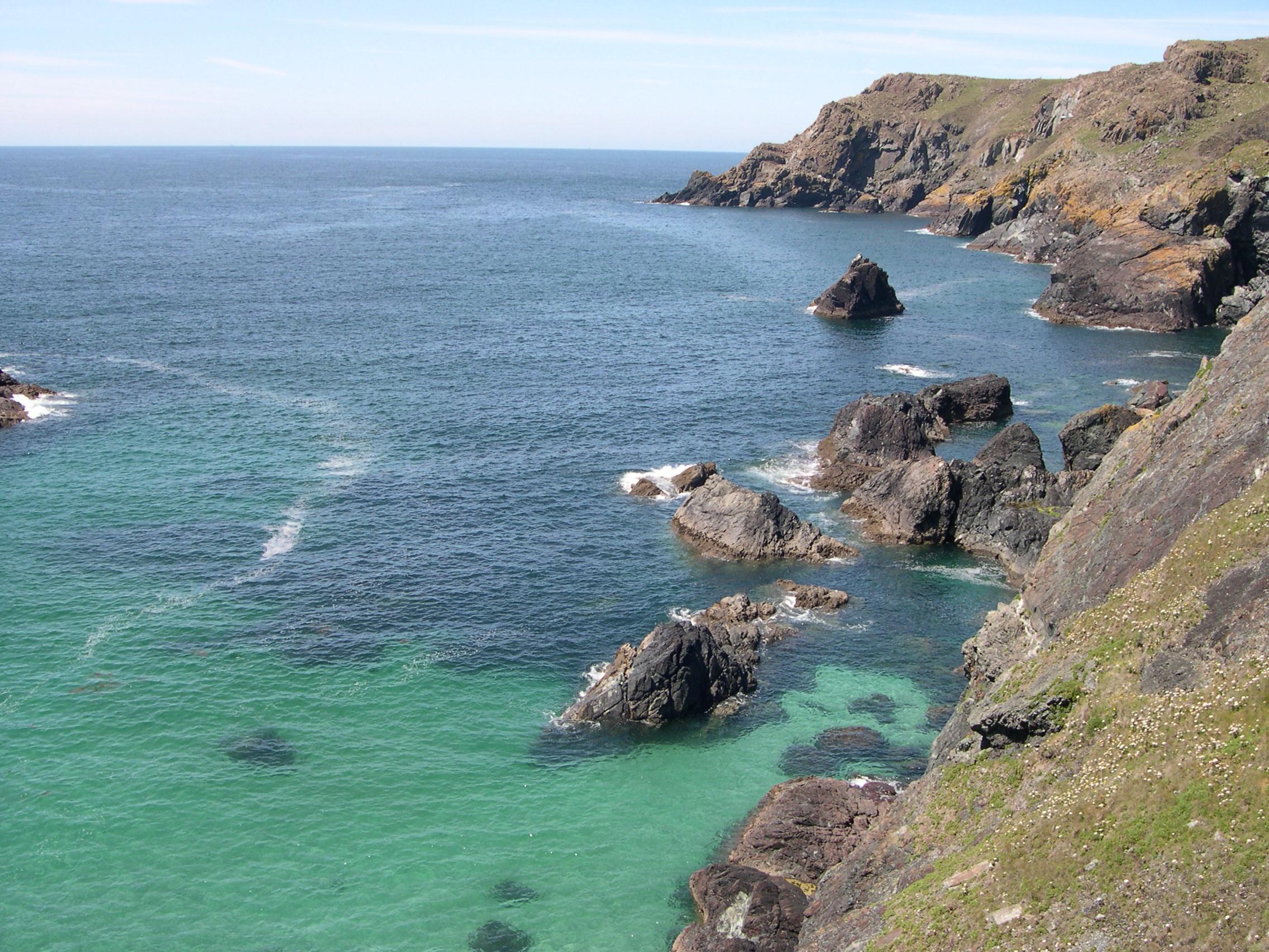 Cornwall coast photo