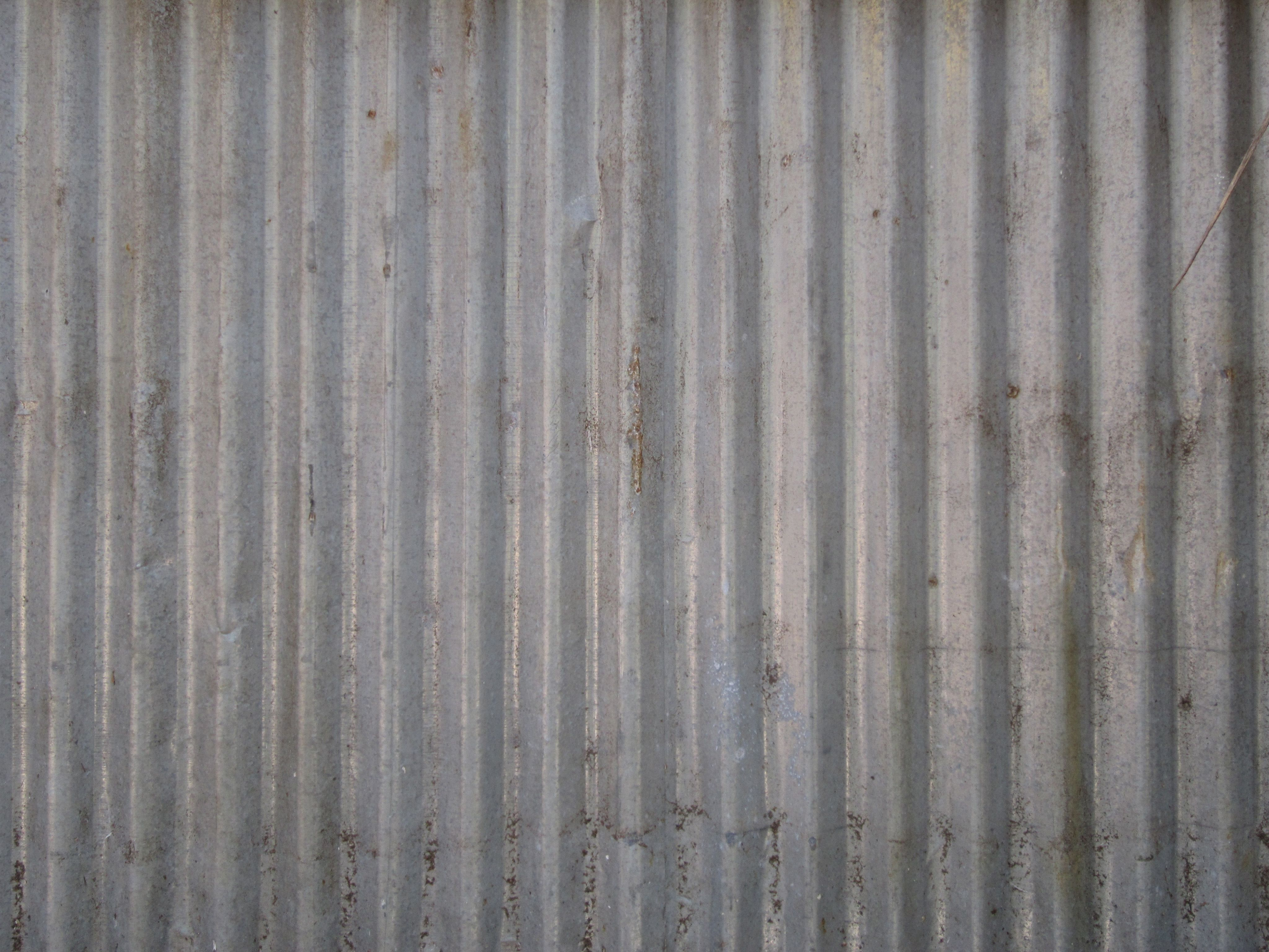 Free Photo Corrugated Metal Background Corroded