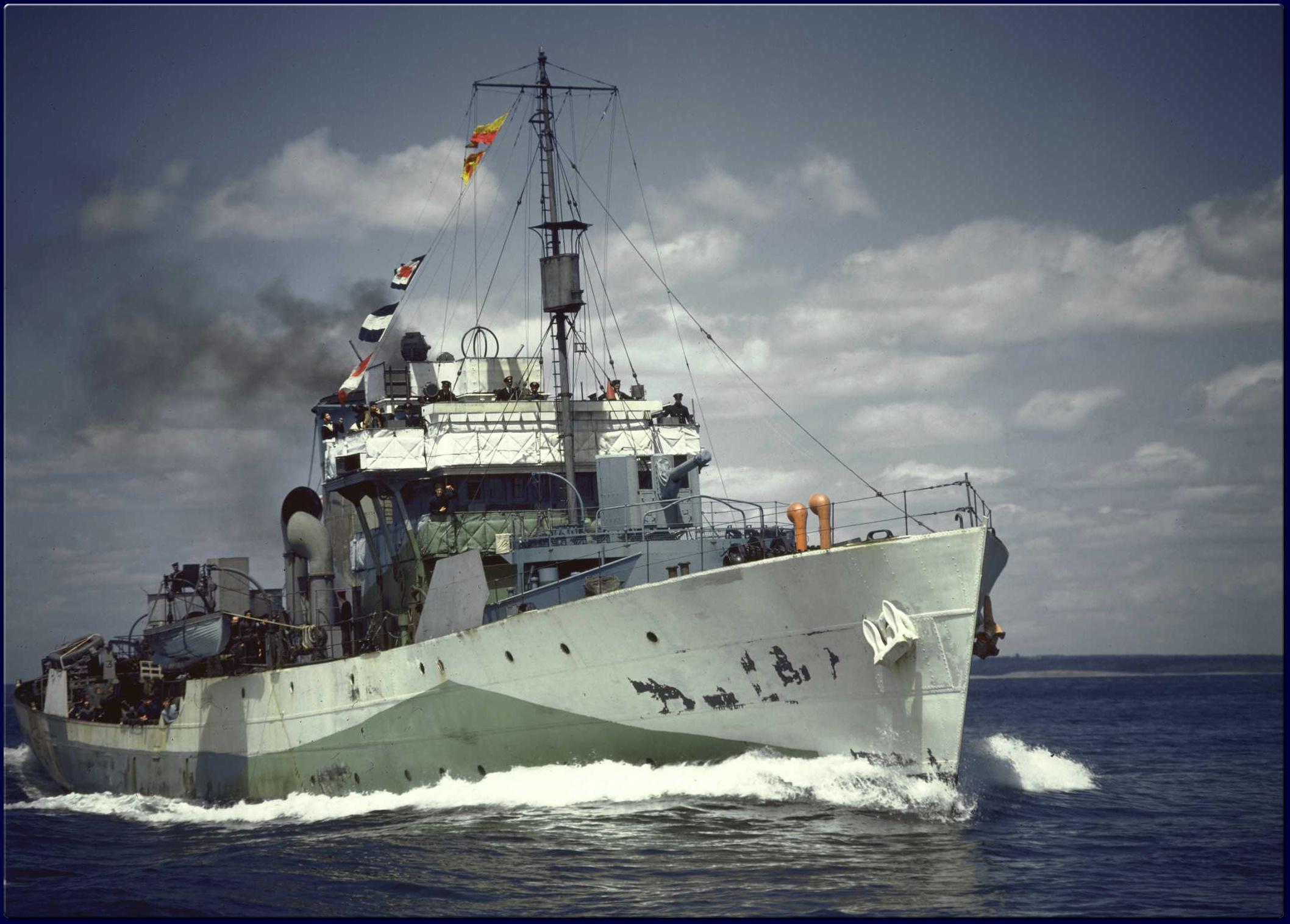 Corvette ship photo