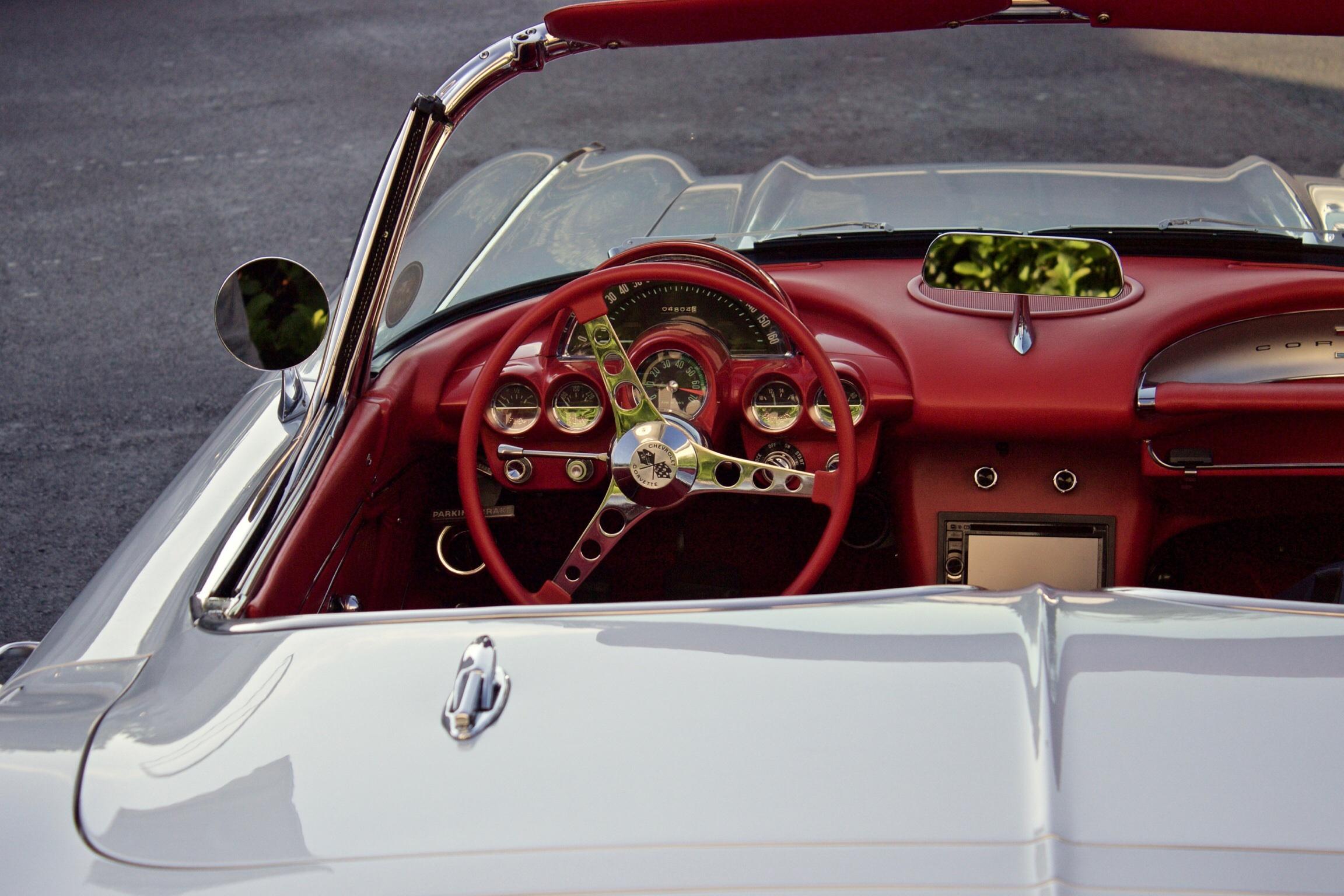 Corvette, Car, Chevrolet, Control, Interior, HQ Photo