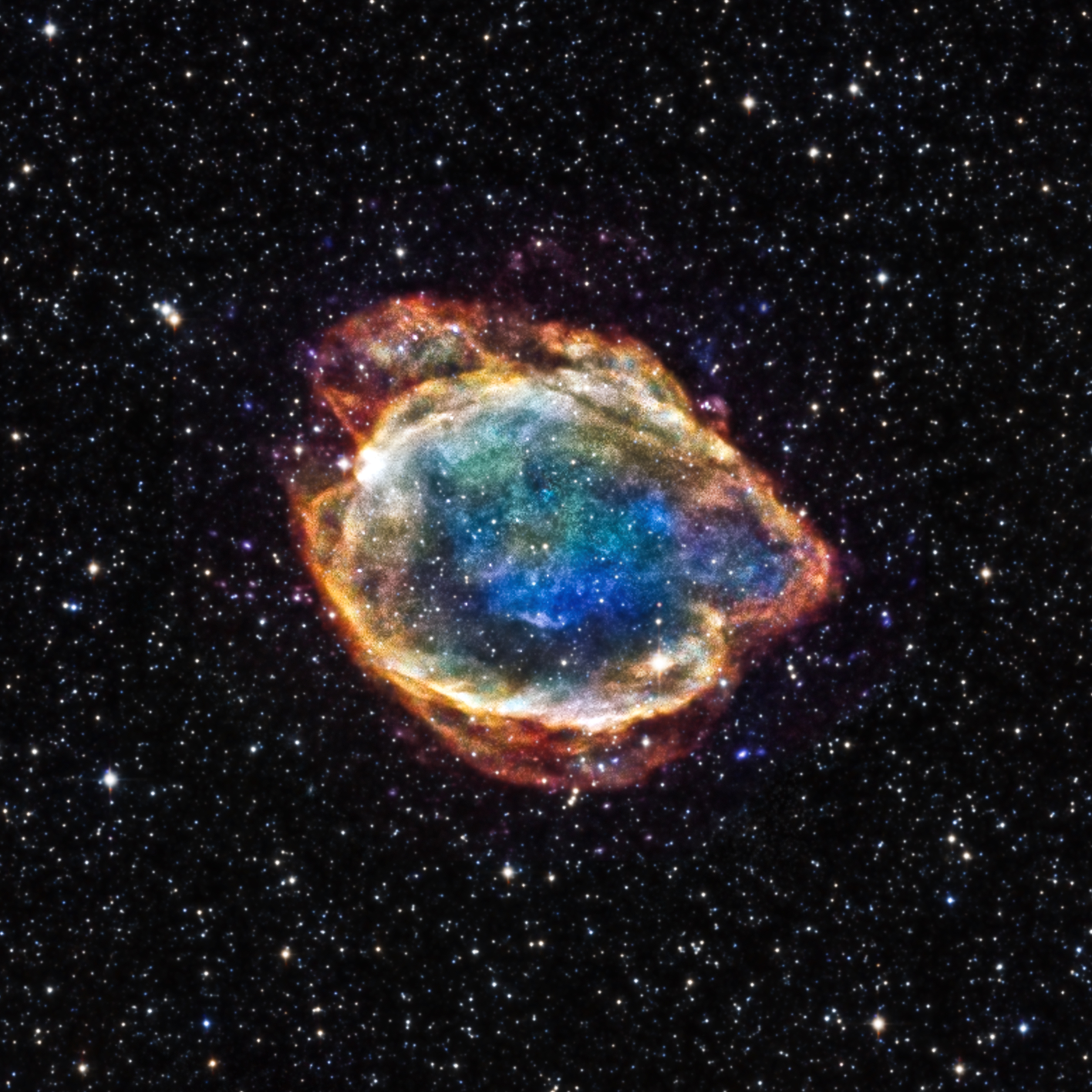 Exploded Star Blooms Like a Cosmic Flower | NASA