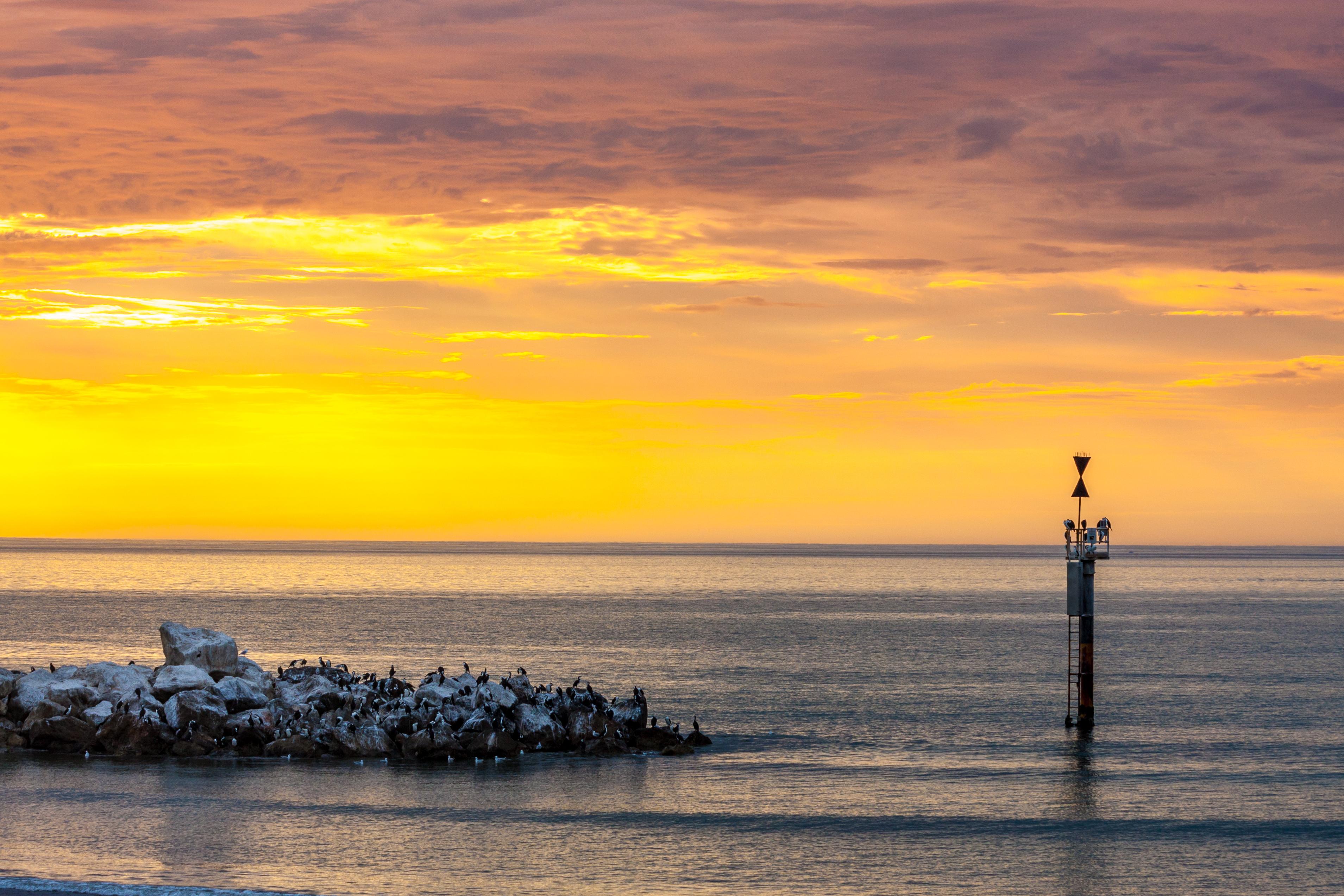 File:Coastal Sunset HDR (8233171831).jpg - Wikimedia Commons