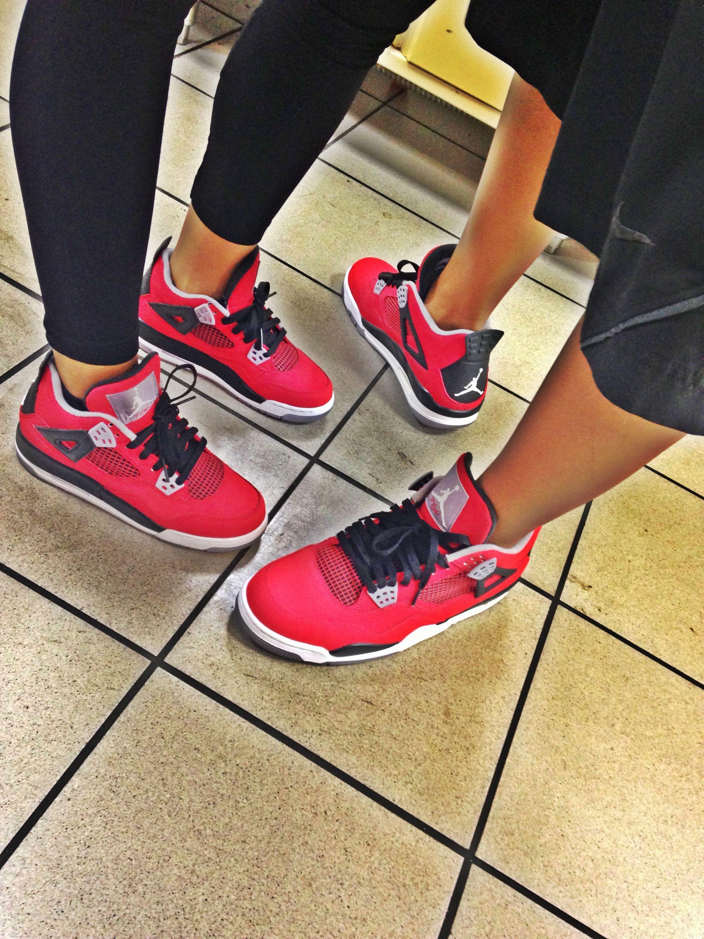 J's on my feet   Sneakers   Pinterest   Matching jordans, Couples ...