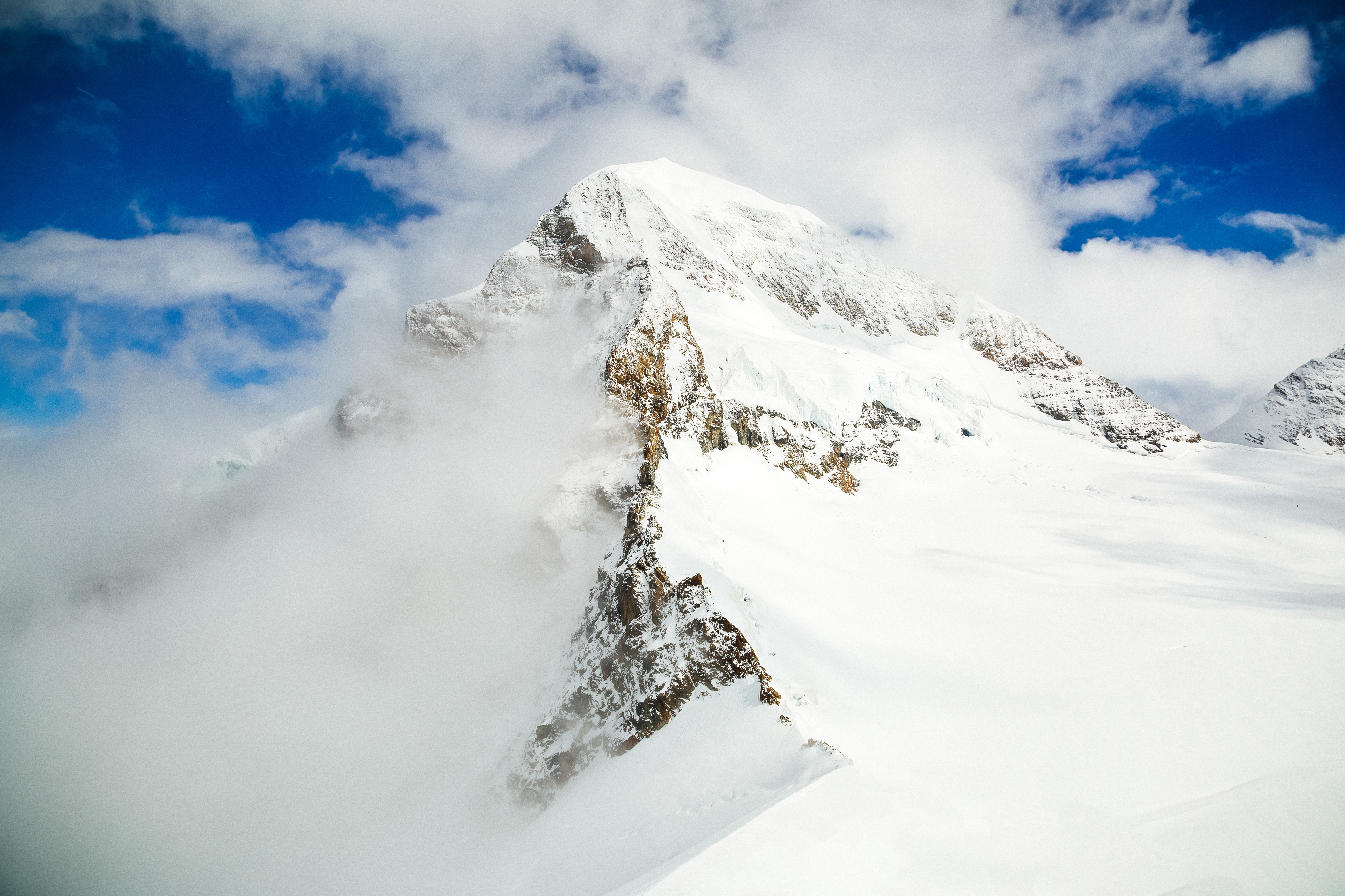 Covered with Clouds, Altitude, Cloud, Cloudy, Ice, HQ Photo