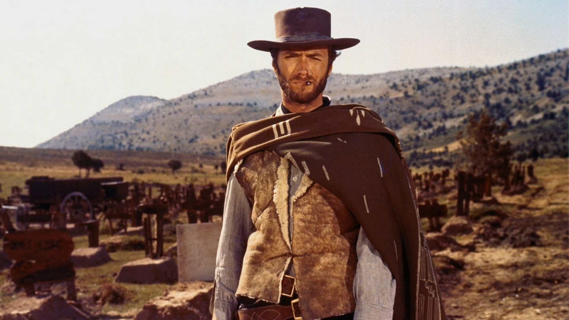 Clint Eastwood Cowboy HD Wallpaper, Background Images