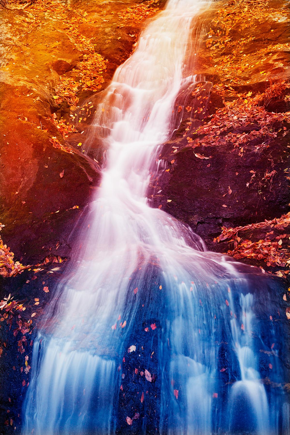 Crabtree Fantasy Falls, America, Pouring, Shades, Shade, HQ Photo
