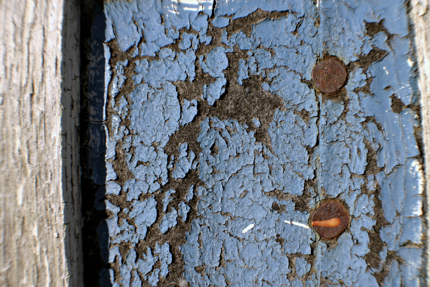 Cracked blue wall, Abstract, Blue, Old, Paint, HQ Photo