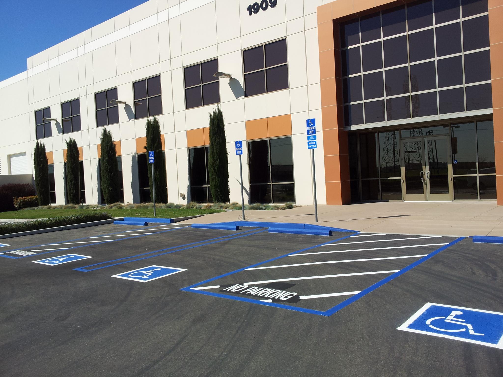 Custom Curb Painting, Handicap, ADA Upgrades, Crackfill, Patching ...