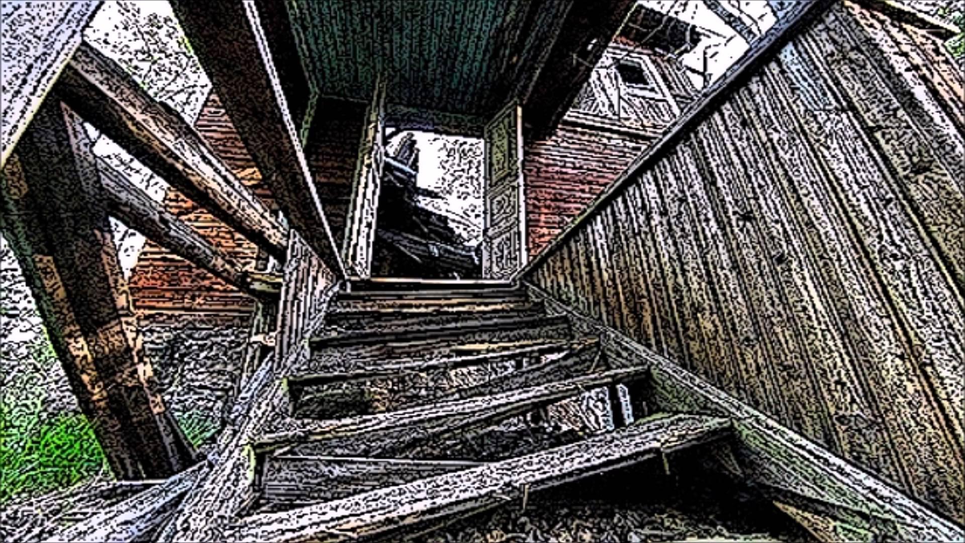 Broken Wooden Stairs Sound Effect - YouTube