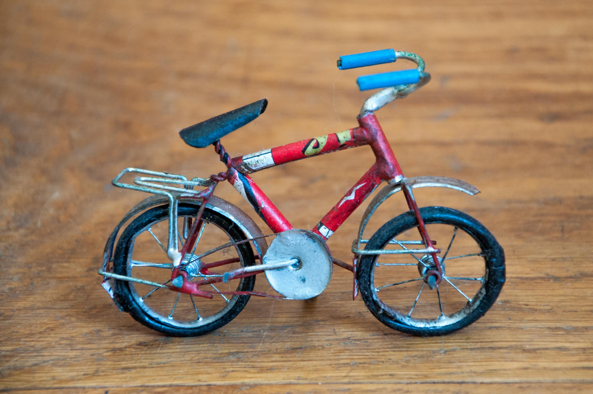Craft bicycle made by aluminium, Art, Model, White, Vehicle, HQ Photo