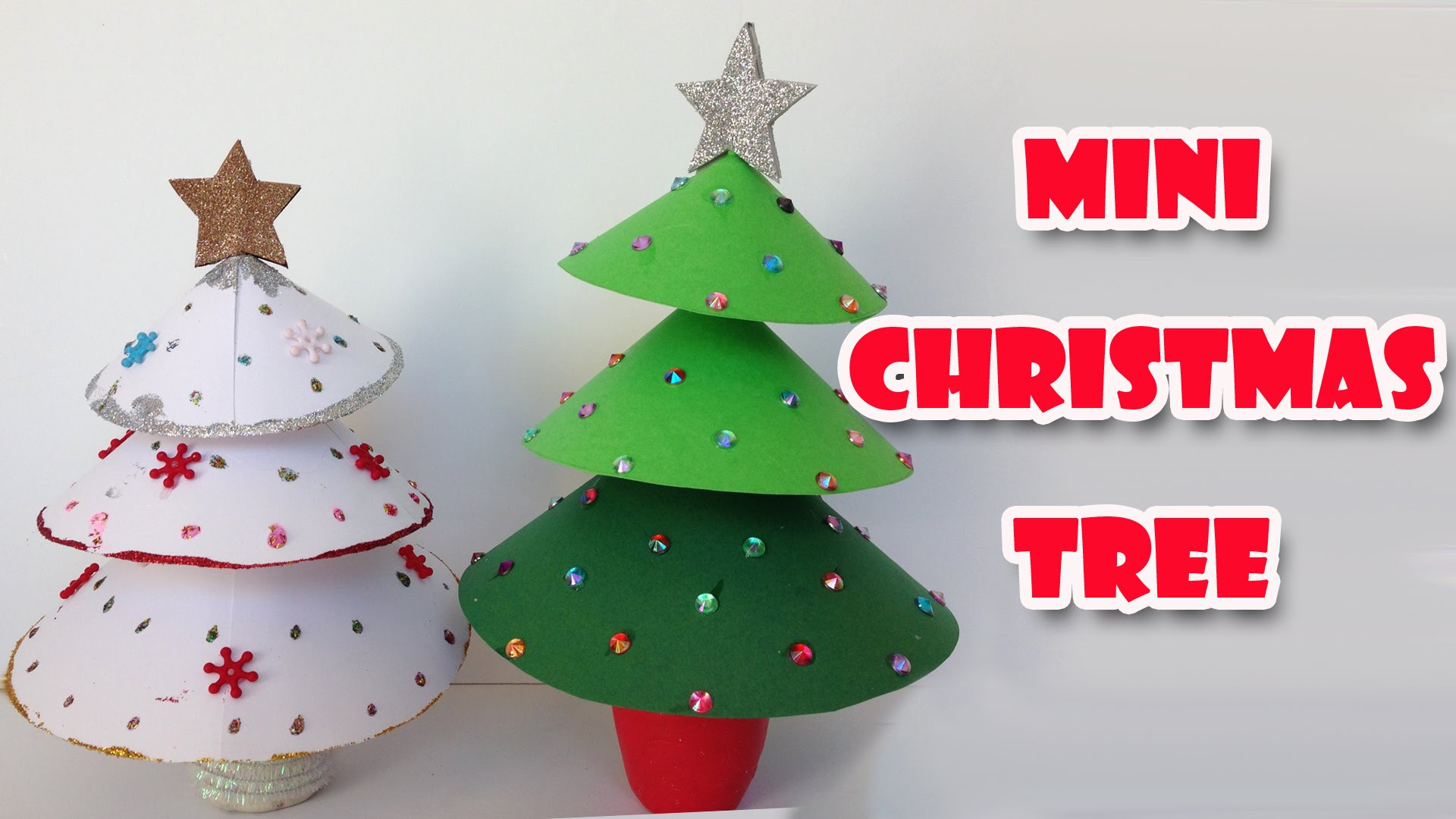 DIY christmas crafts | Mini christmas tree - EASY!! Ana | DIY Crafts ...