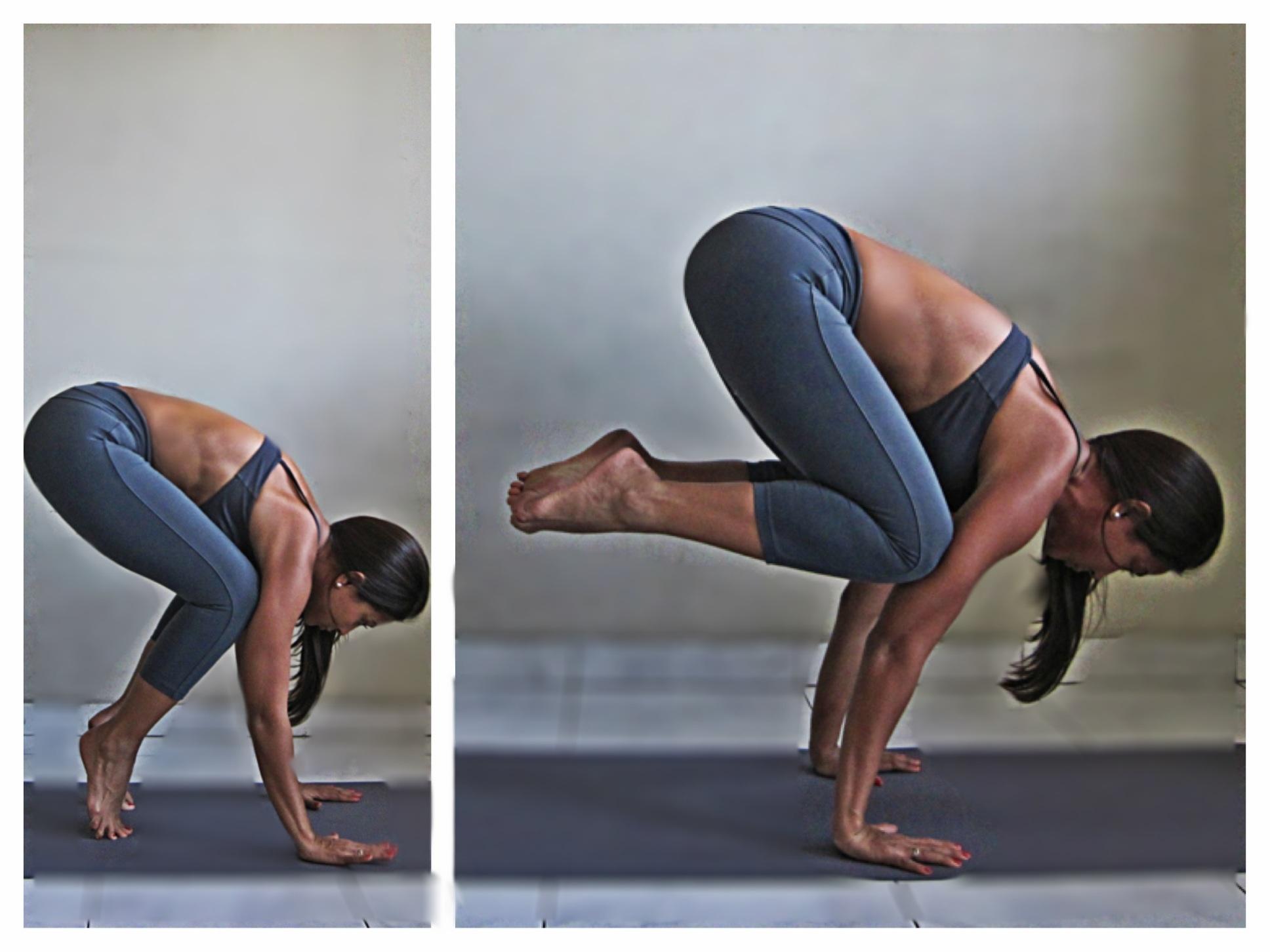 Yoga Poses - Crane Pose