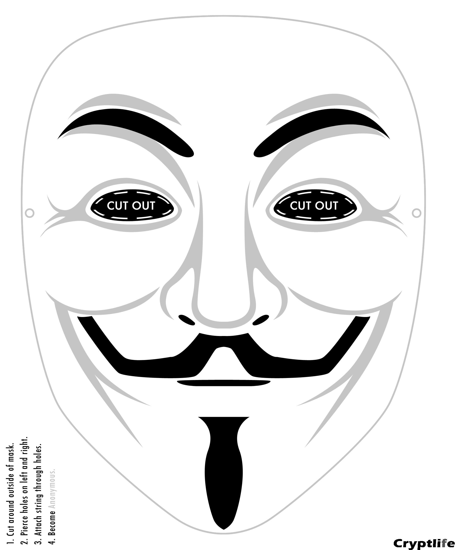 mask printable ...