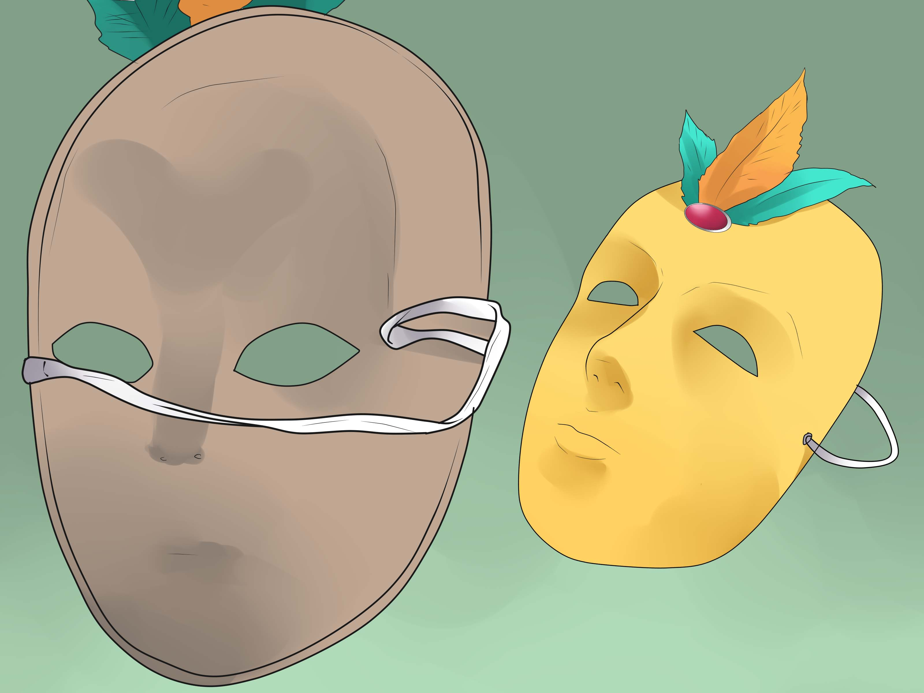 How to Make a Venetian Mask: 12 Steps (with Pictures) - wikiHow