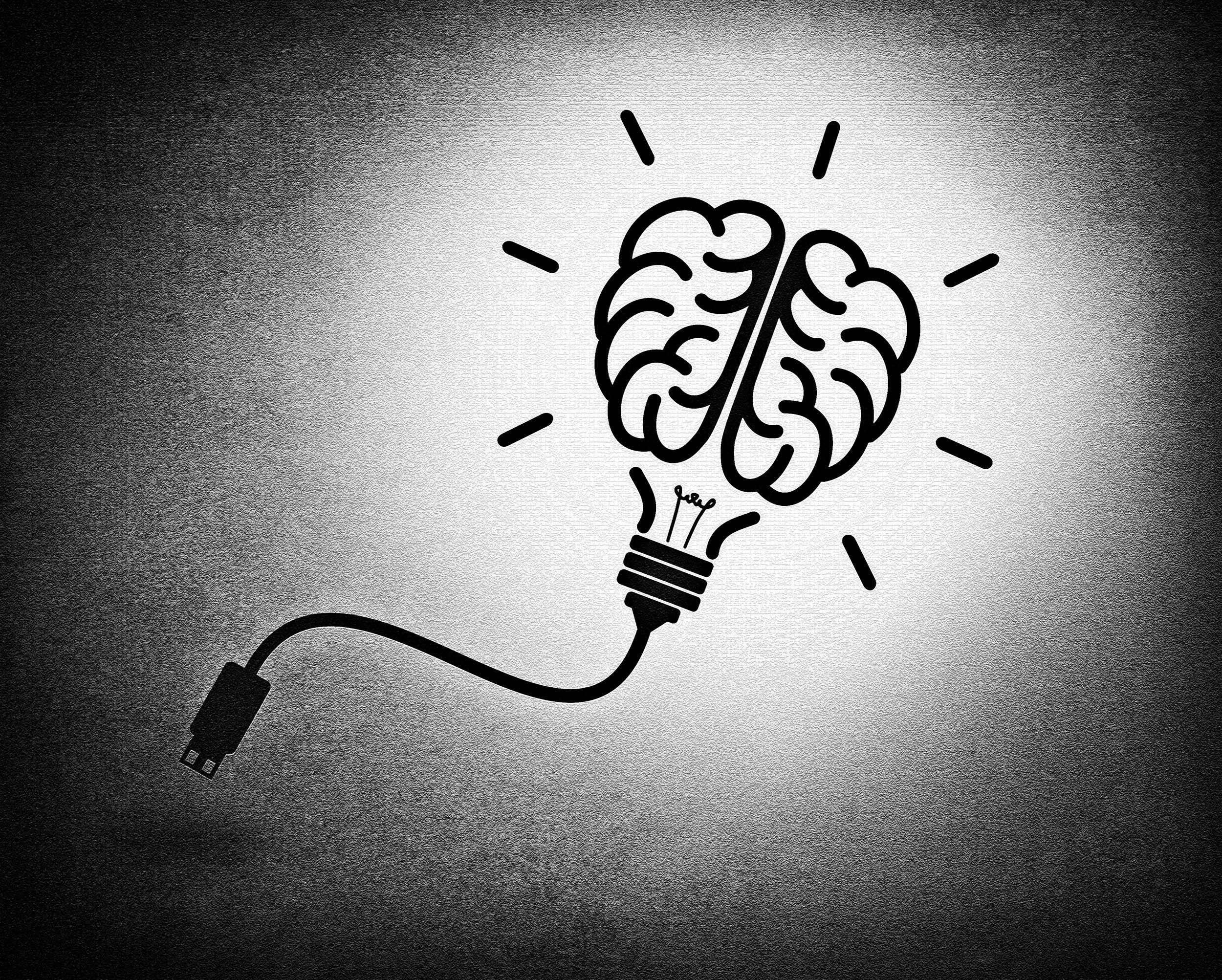 Creative brain idea concept photo
