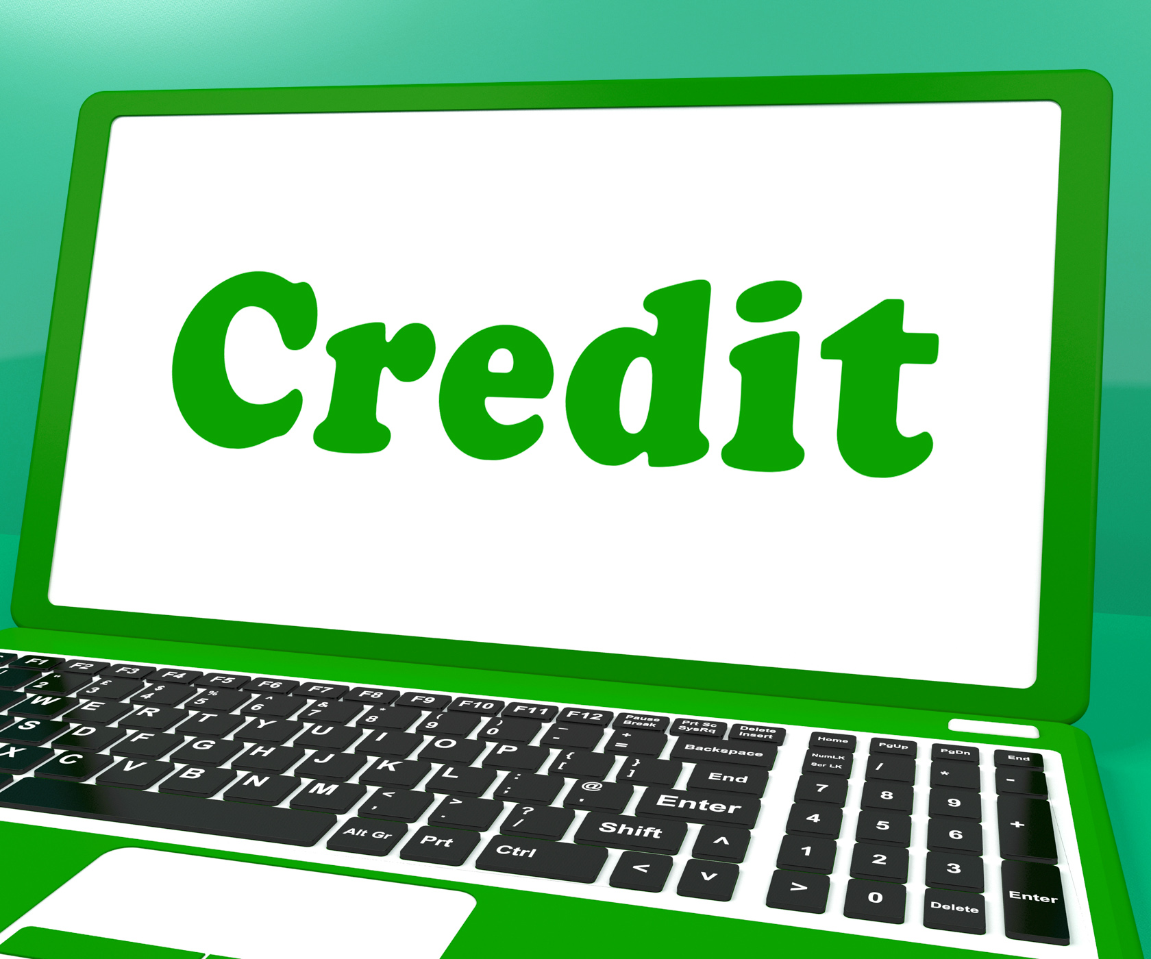 Credit Laptop Shows Finance Or Loan For Purchasing, Internet, Purchasing, Purchase, Online, HQ Photo