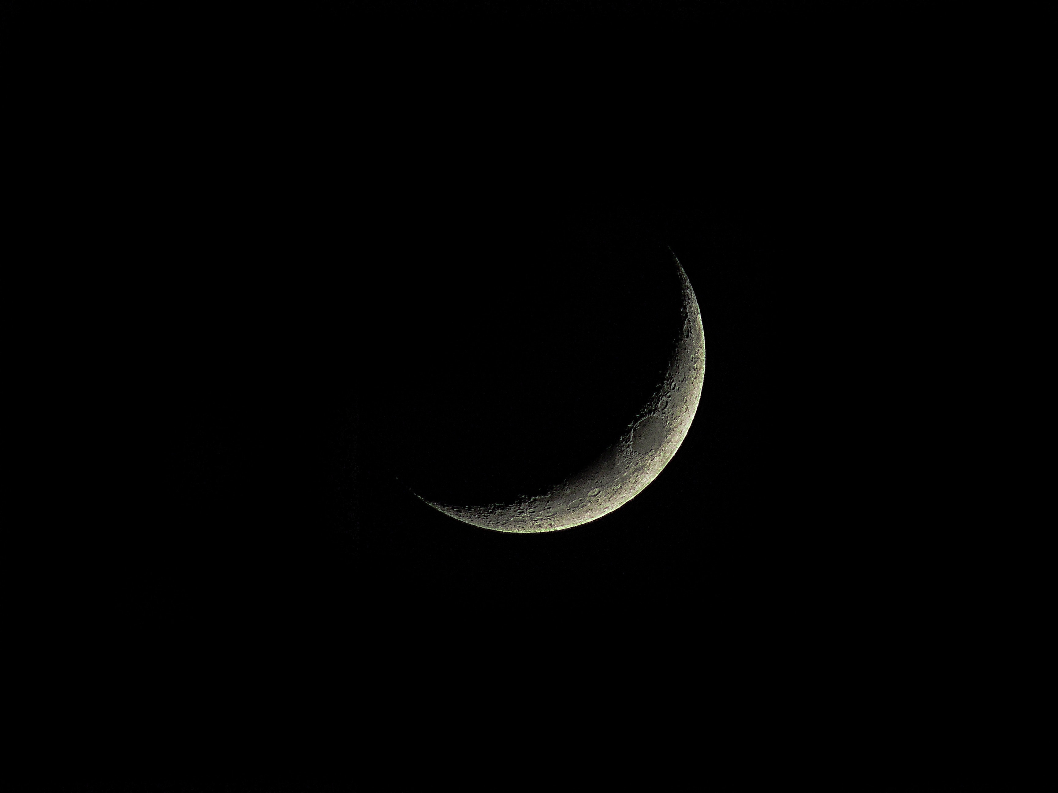 crescent moon symbol on iphone free photo crescent moon moon space free 16845