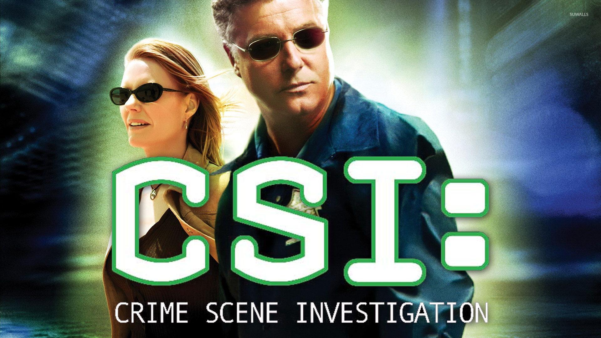 CSI: Crime Scene Investigation wallpaper - TV Show wallpapers - #818