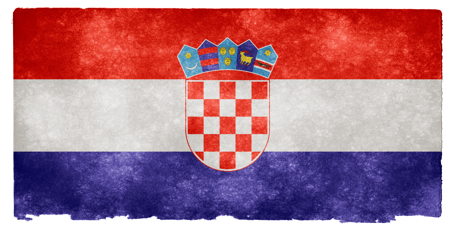 Croatia Grunge Flag, Aged, Retro, Old, Page, HQ Photo