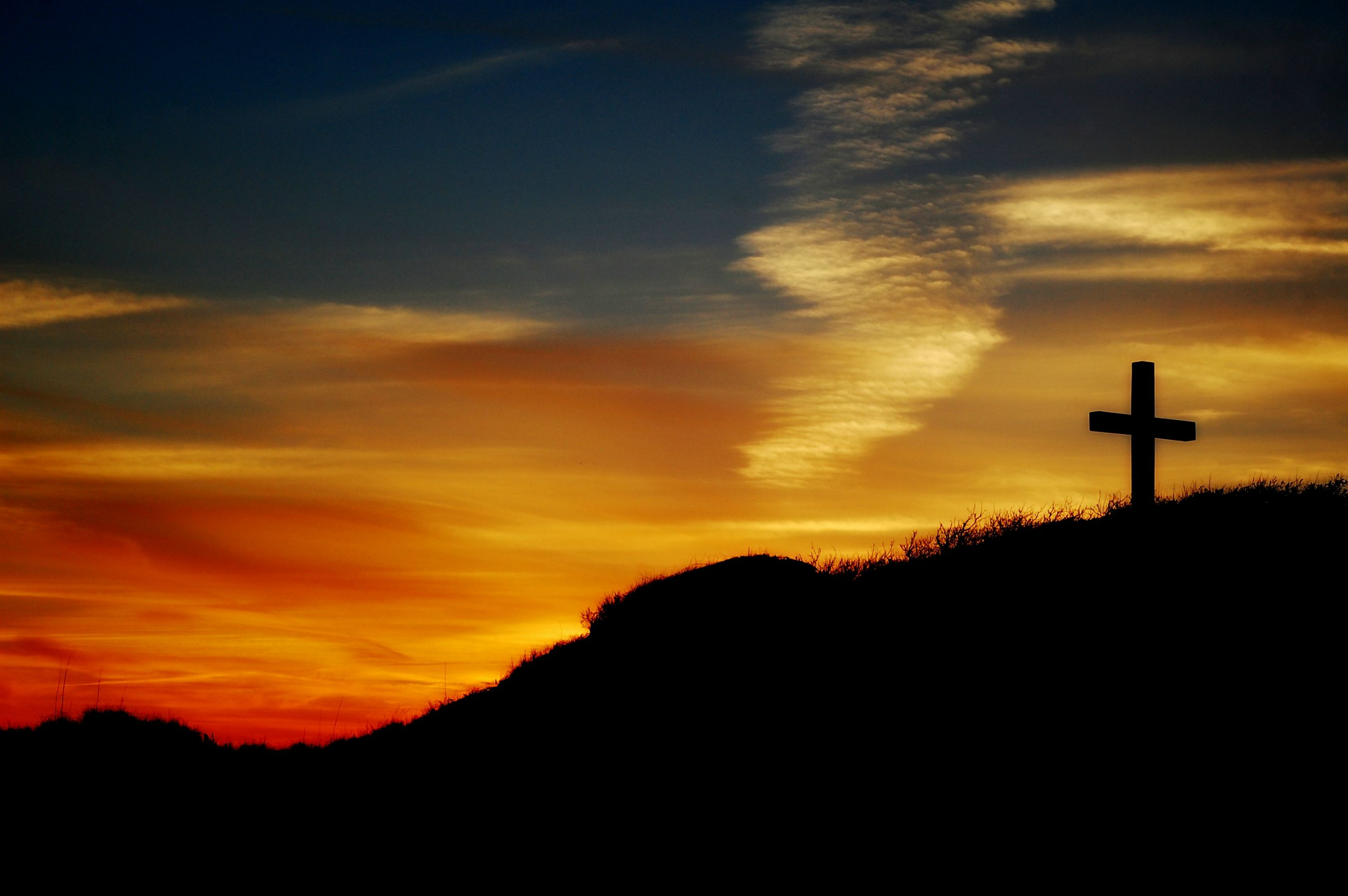 Free Photo Cross At Sunset Cross Faith Jesus Free